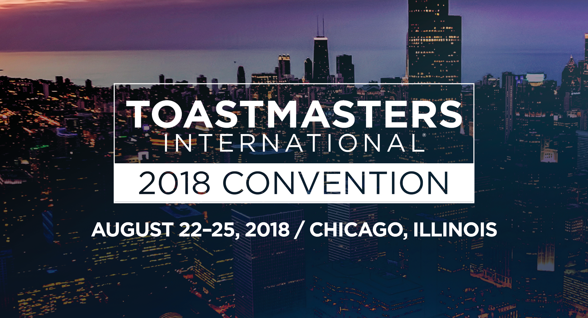 2018 Toastmasters International Convention