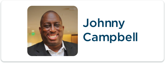 Toastmasters International Convention Exhibitor Johnny Campbell Logo