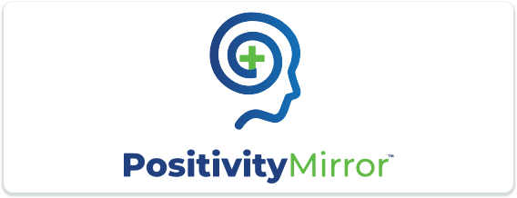 Toastmasters International Convention Exhibitor Positivity Mirror Logo
