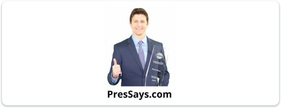 Toastmasters International Convention Exhibitor Pres-Says Logo