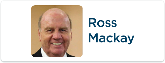 Toastmasters International Convention Exhibitor Ross Mackay Logo