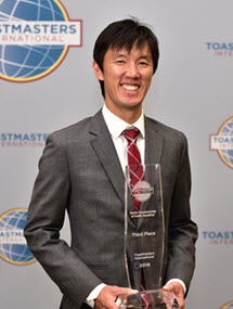 Kwong Yue Yang Toastmasters WCPS Third Place