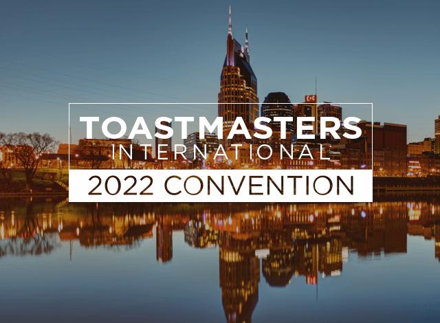 Toastmasters International 2021 Convention Nashville image