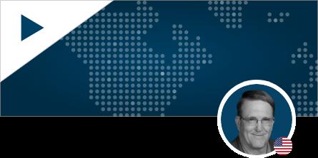 Bob Mason Headshot on World Map Background