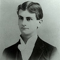 Ralph C. Smedley as a young man