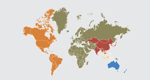 14 Global Regions