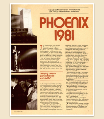 1981 Magazine Convention