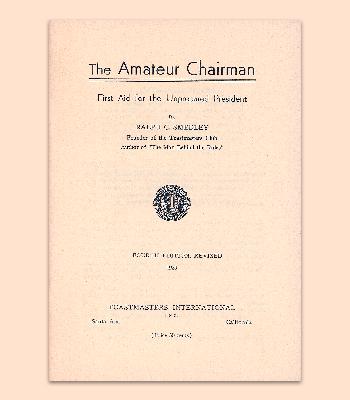 Amateur Chairman Manual