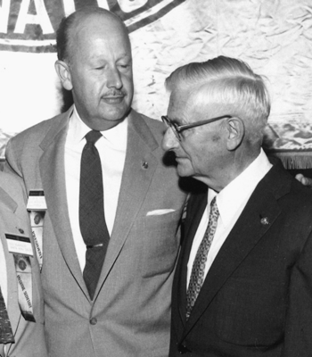 Ted Blanding and Ralph Smedley