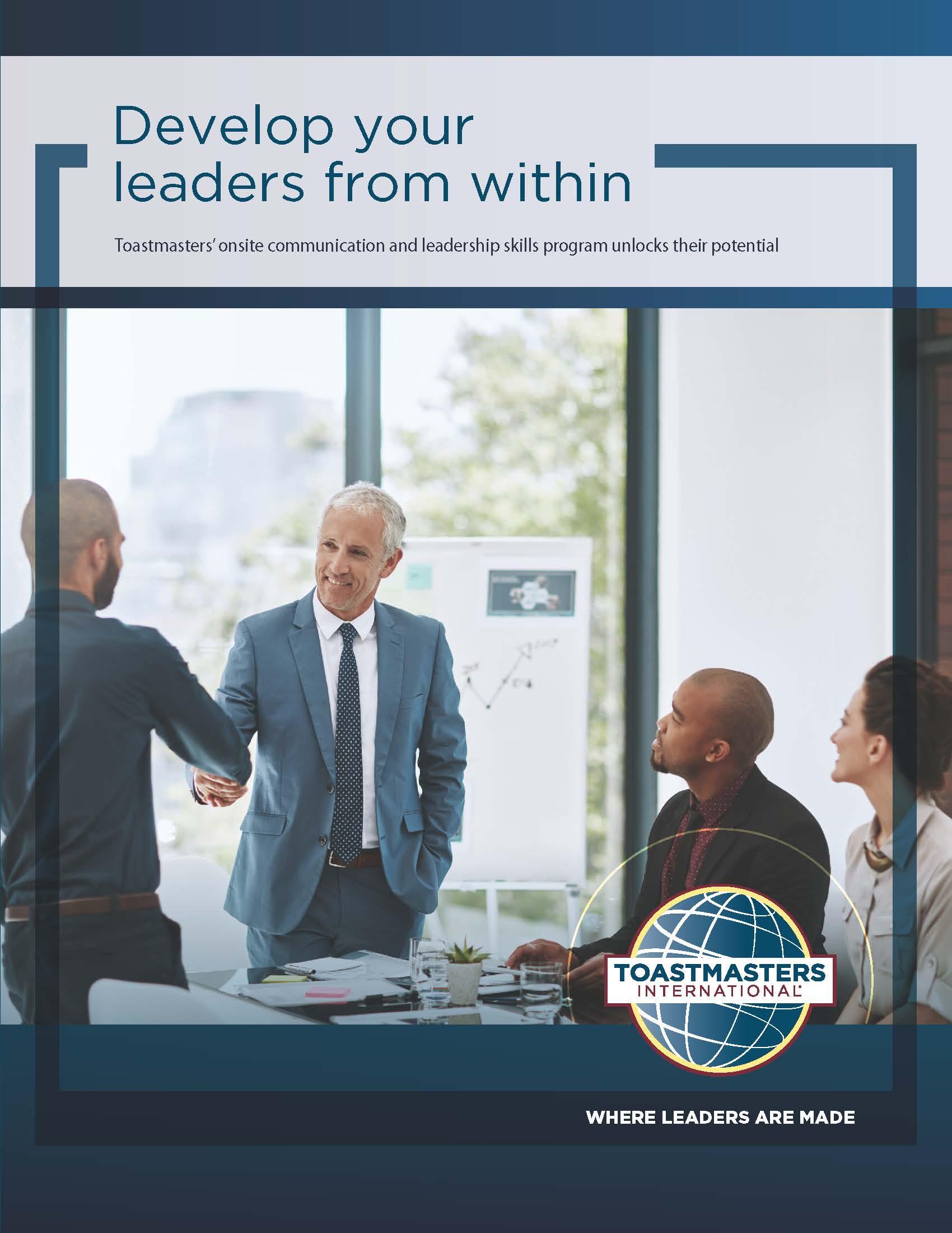 Clear Communication: Your organization needs it. Flier