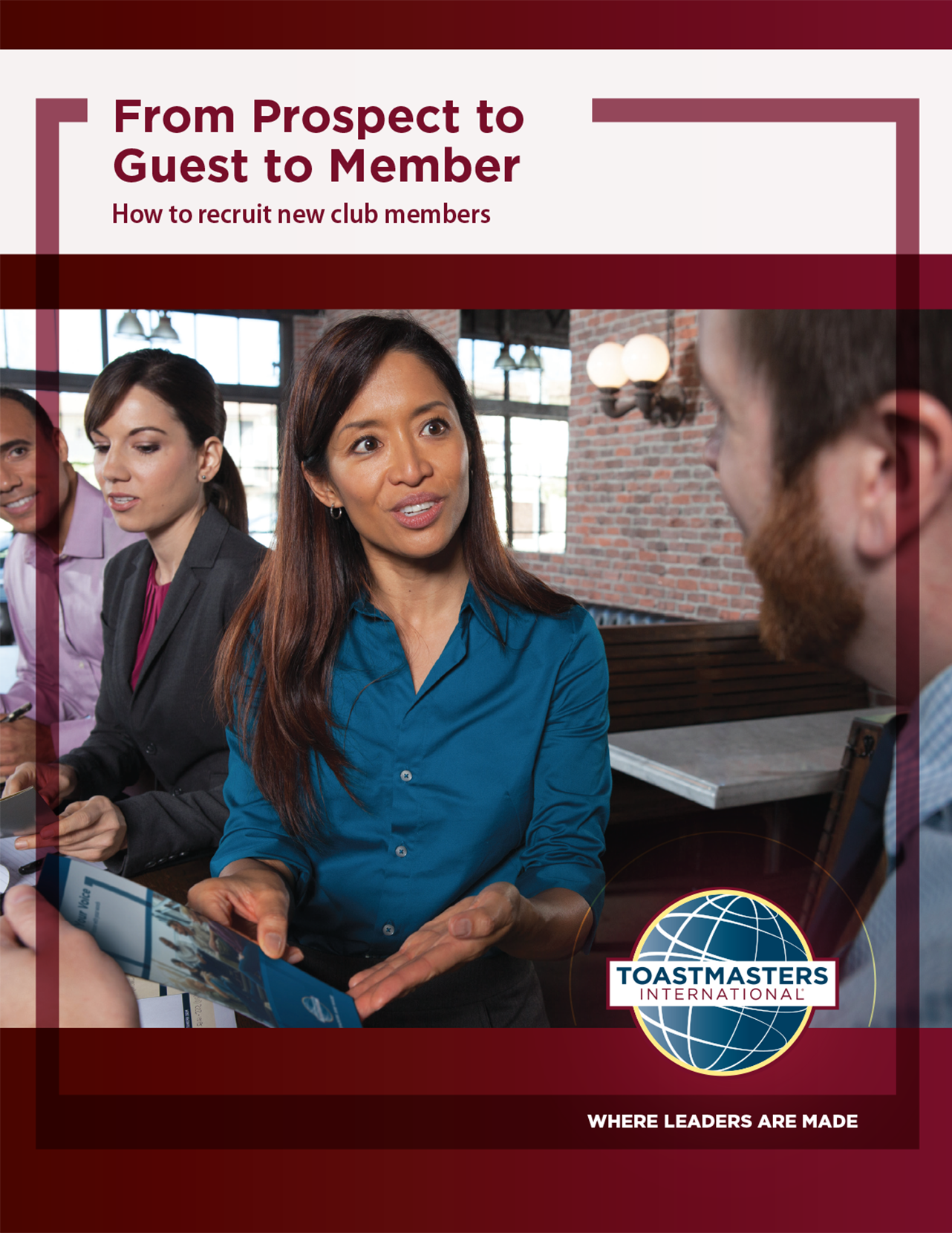 From Prospect to Guest to Member Brochure