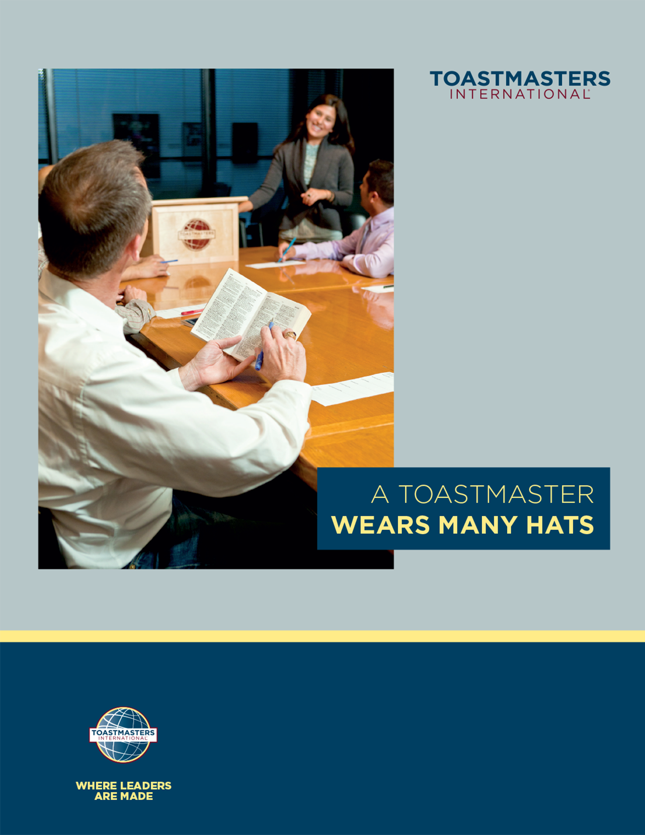 A Toastmaster Wears Many Hats Handbook