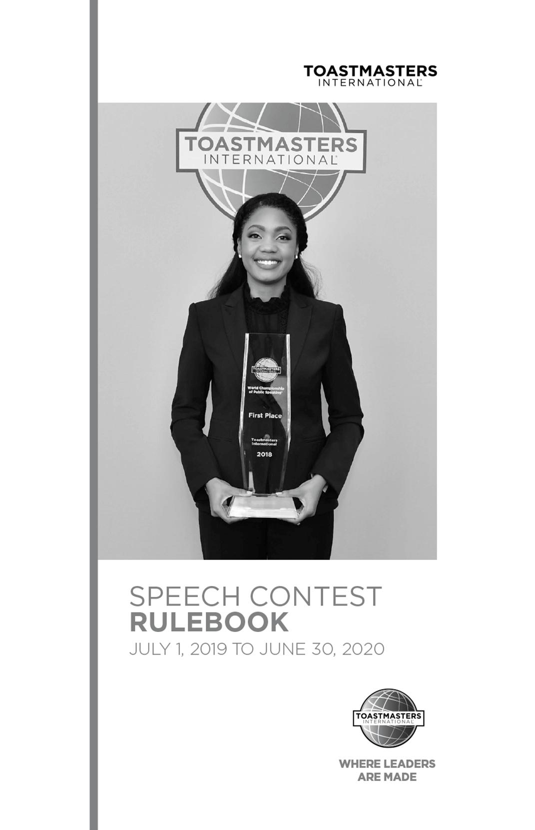 Speech Contest Rulebook