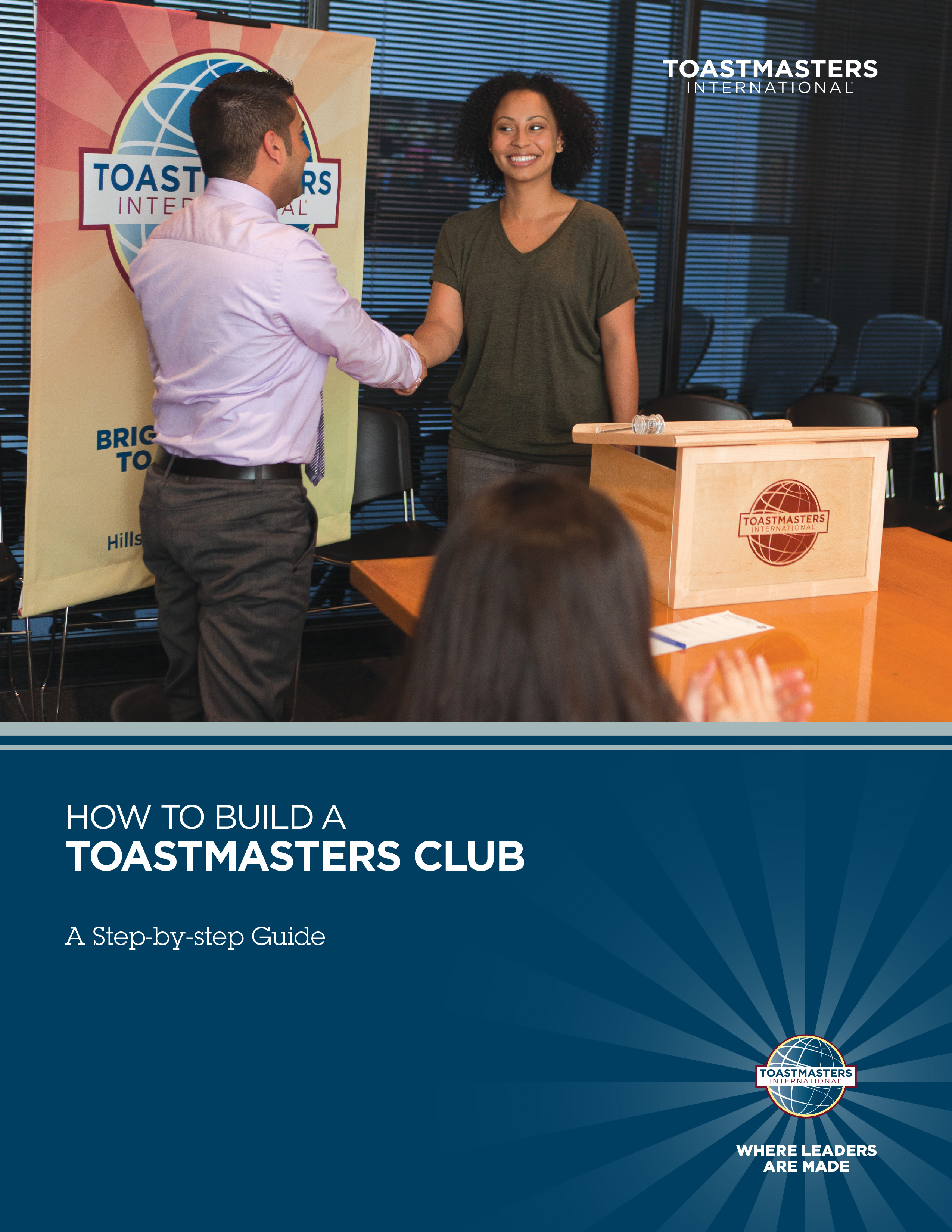 How to Build a Toastmasters Club - A Step-By-Step Guide