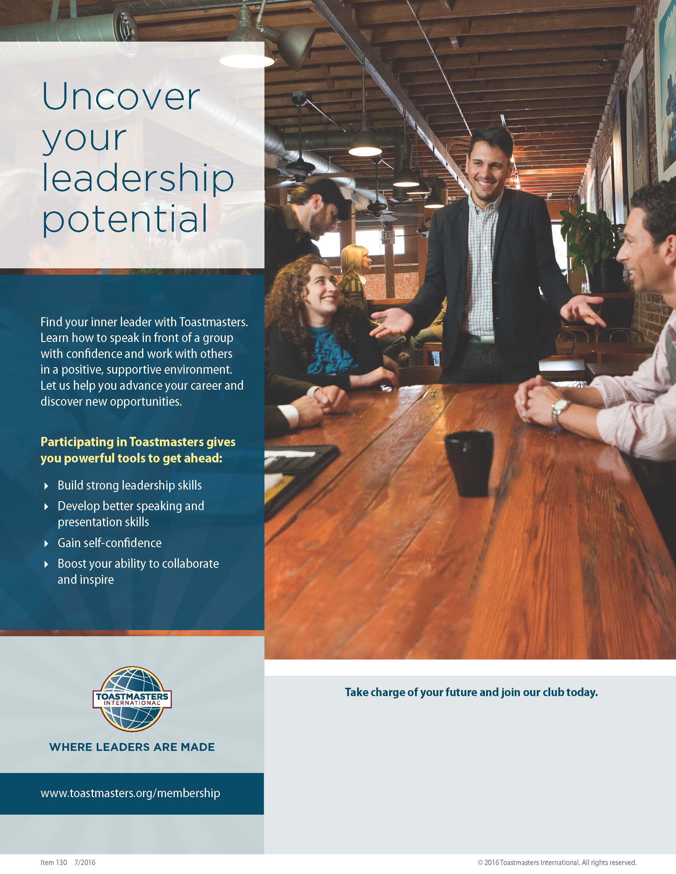 Uncover Your Leadership Potential Flier