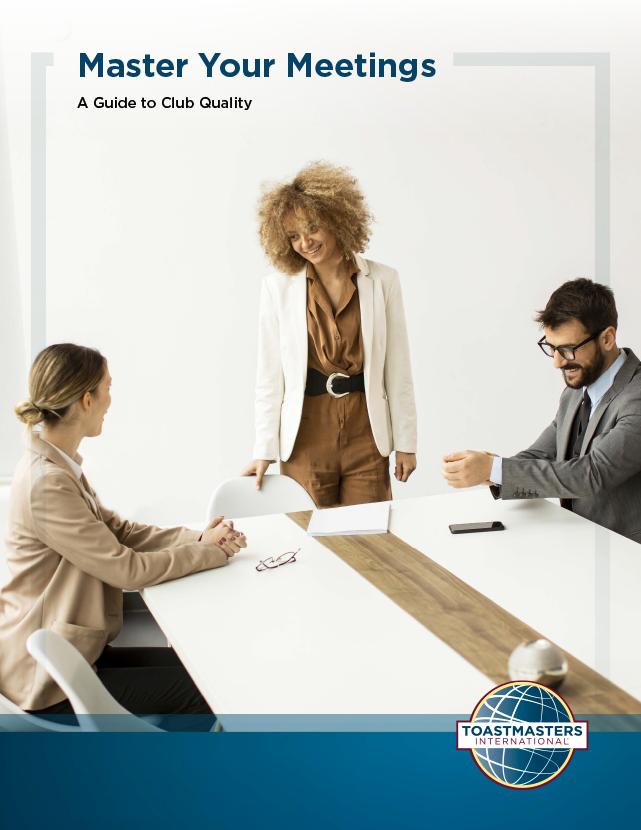 Master Your Meetings handbook