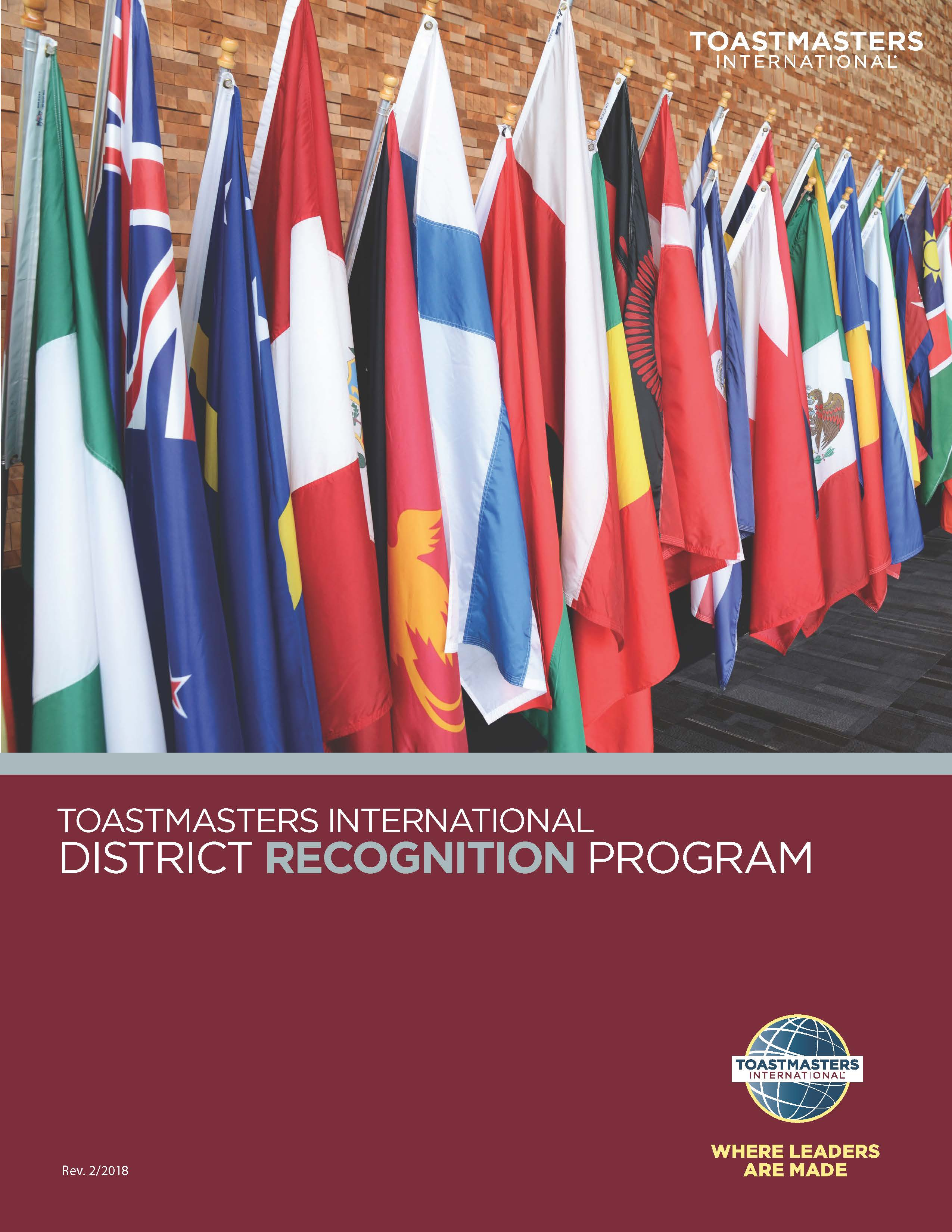 Toastmasters District Recognition Program