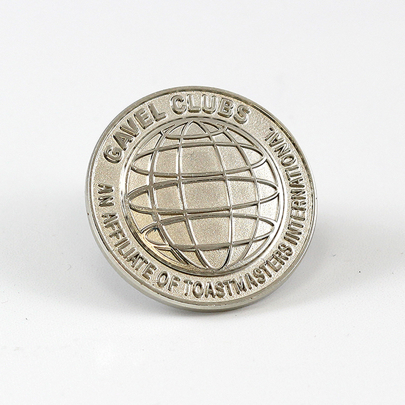 Gavel Club Pin