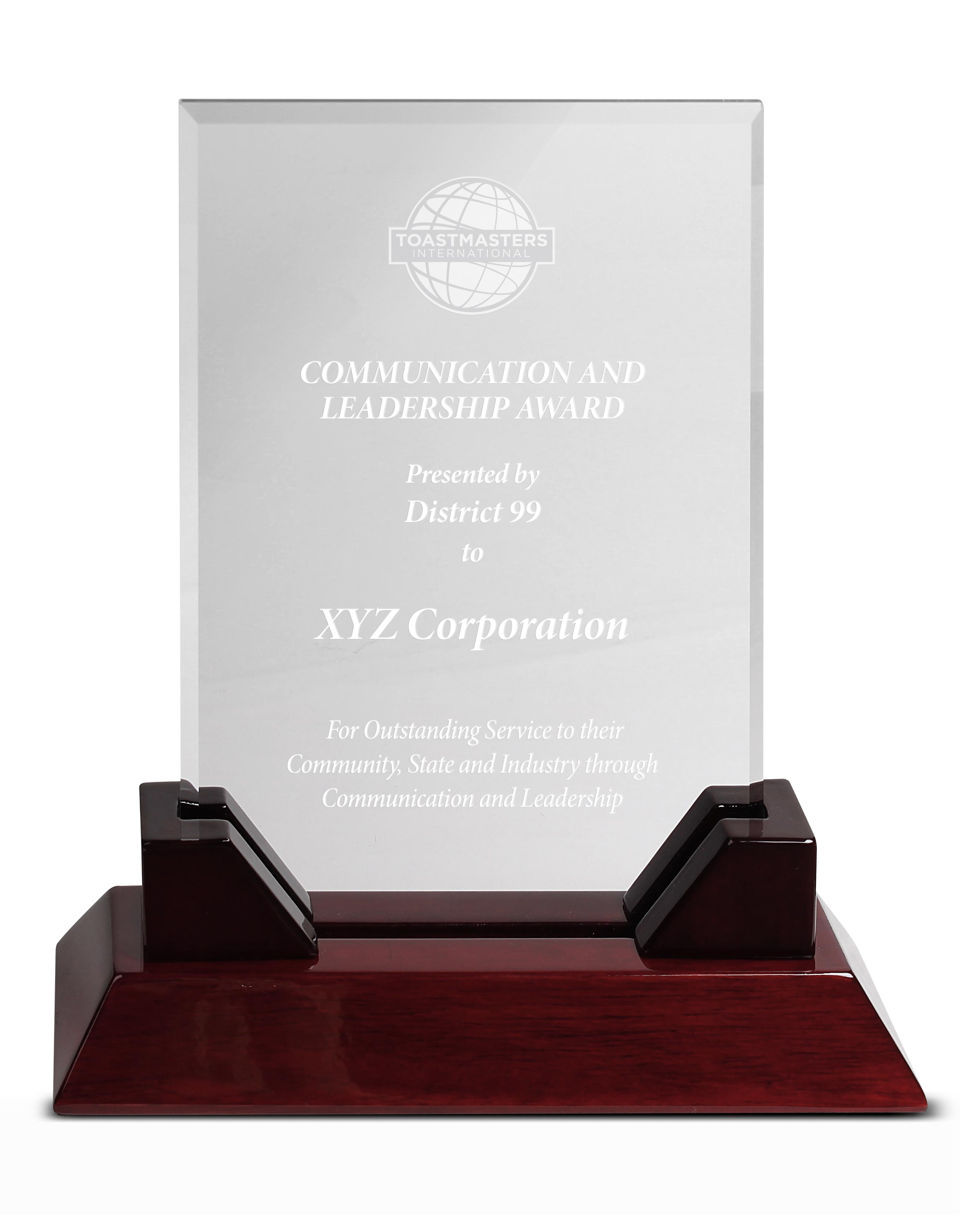 Communication and Leadership Award
