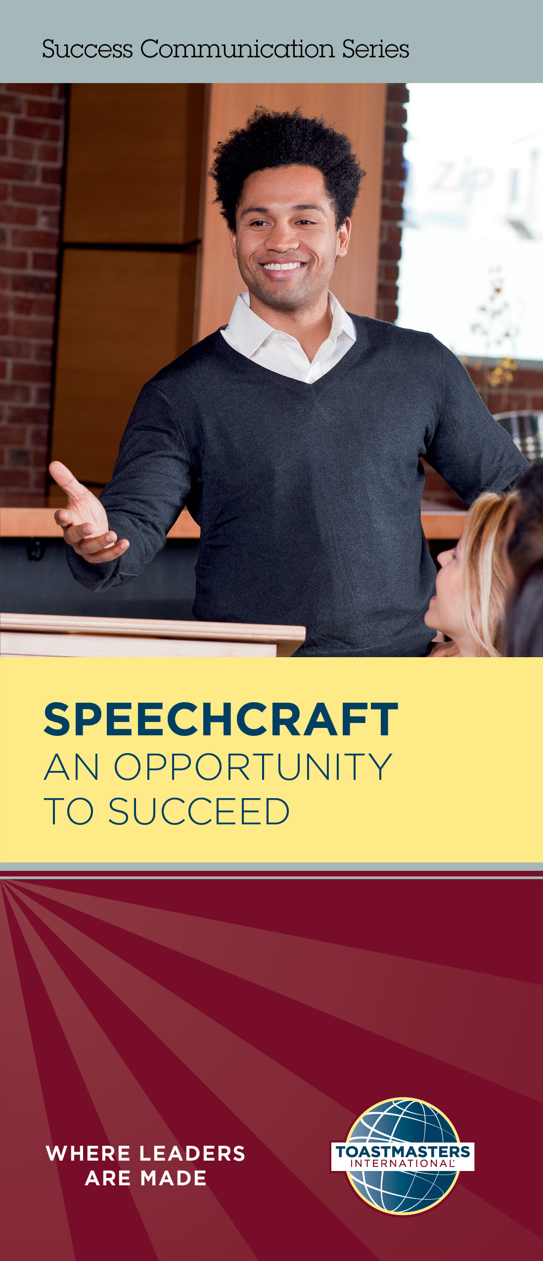 Speechcraft: An Opportunity to Succeed Brochure