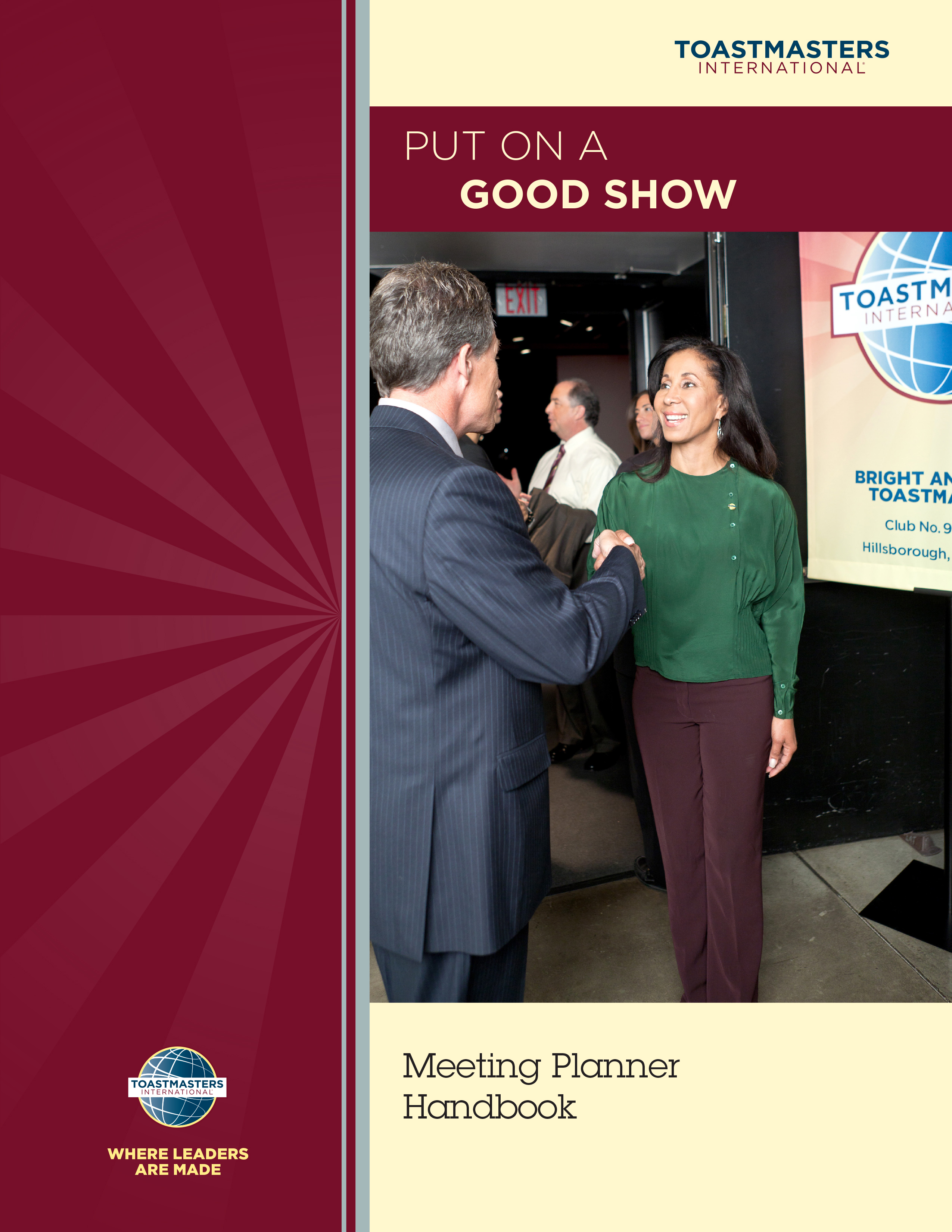 Put on a Good Show - Meeting Handbook