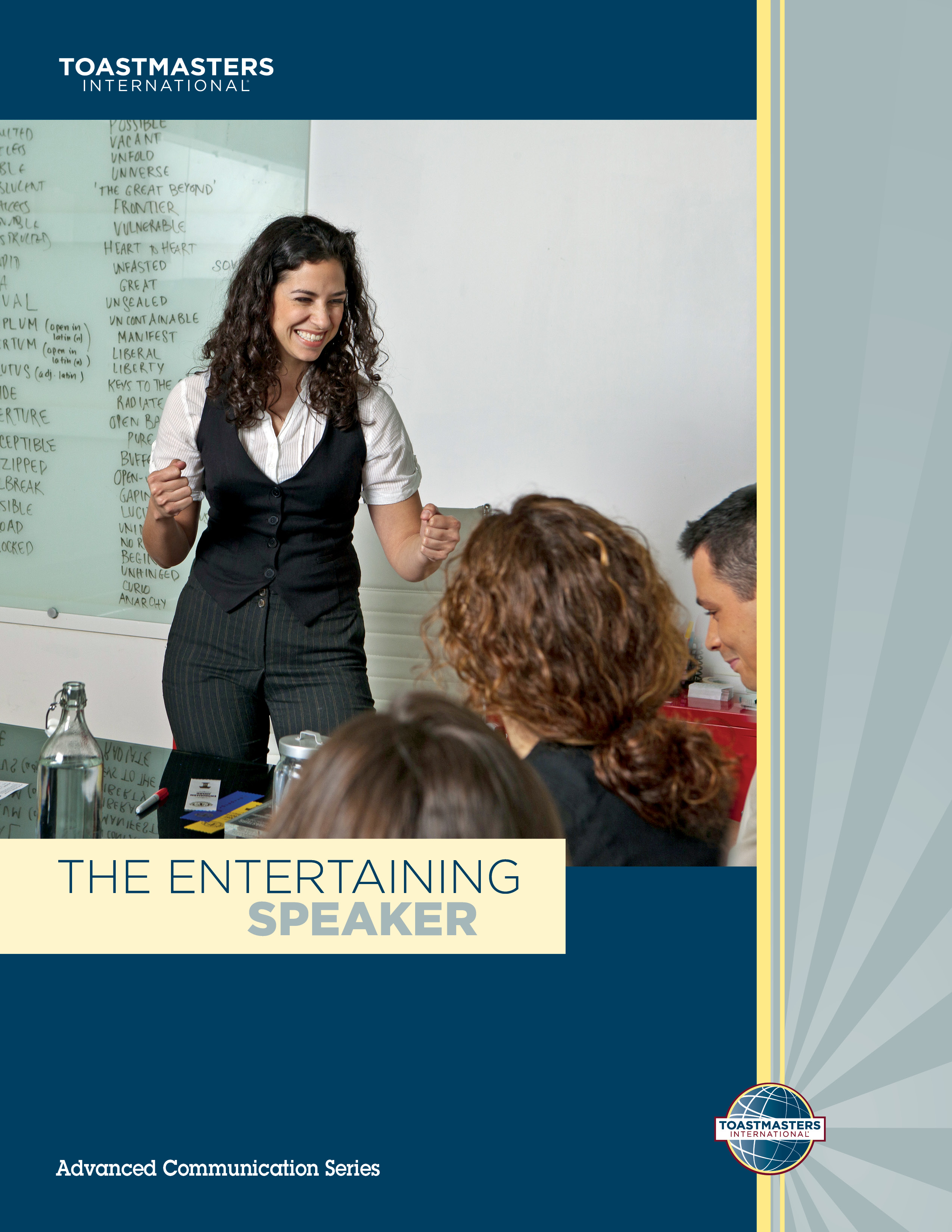 "Cover of the ""Entertaining Speaker"" advanced manual"