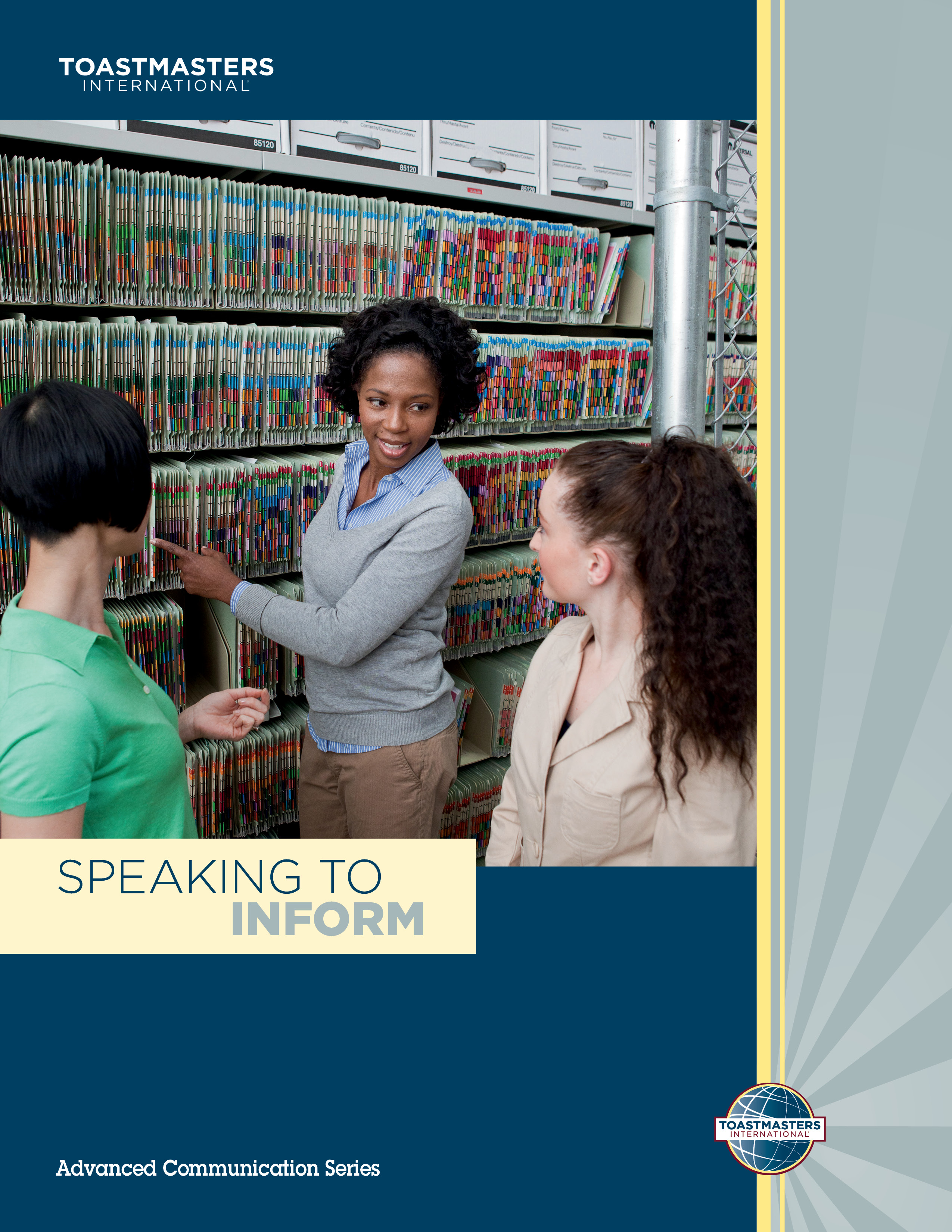 "Cover of the ""Speaking To Inform"" advanced manual"