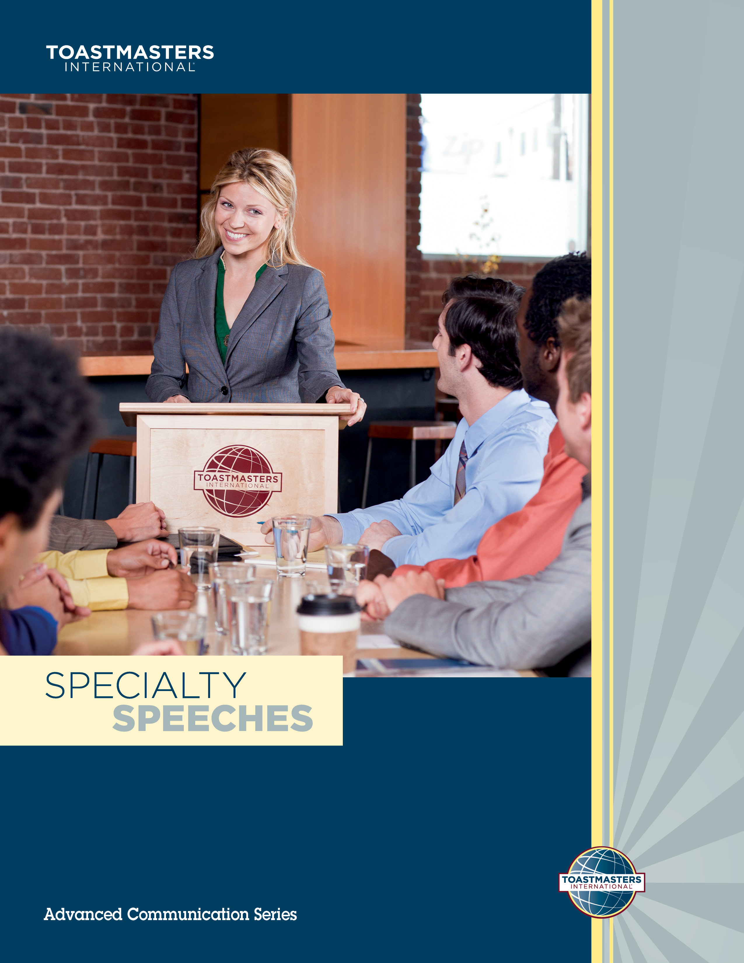 "Cover of the ""Specialty Speeches"" advanced manual"