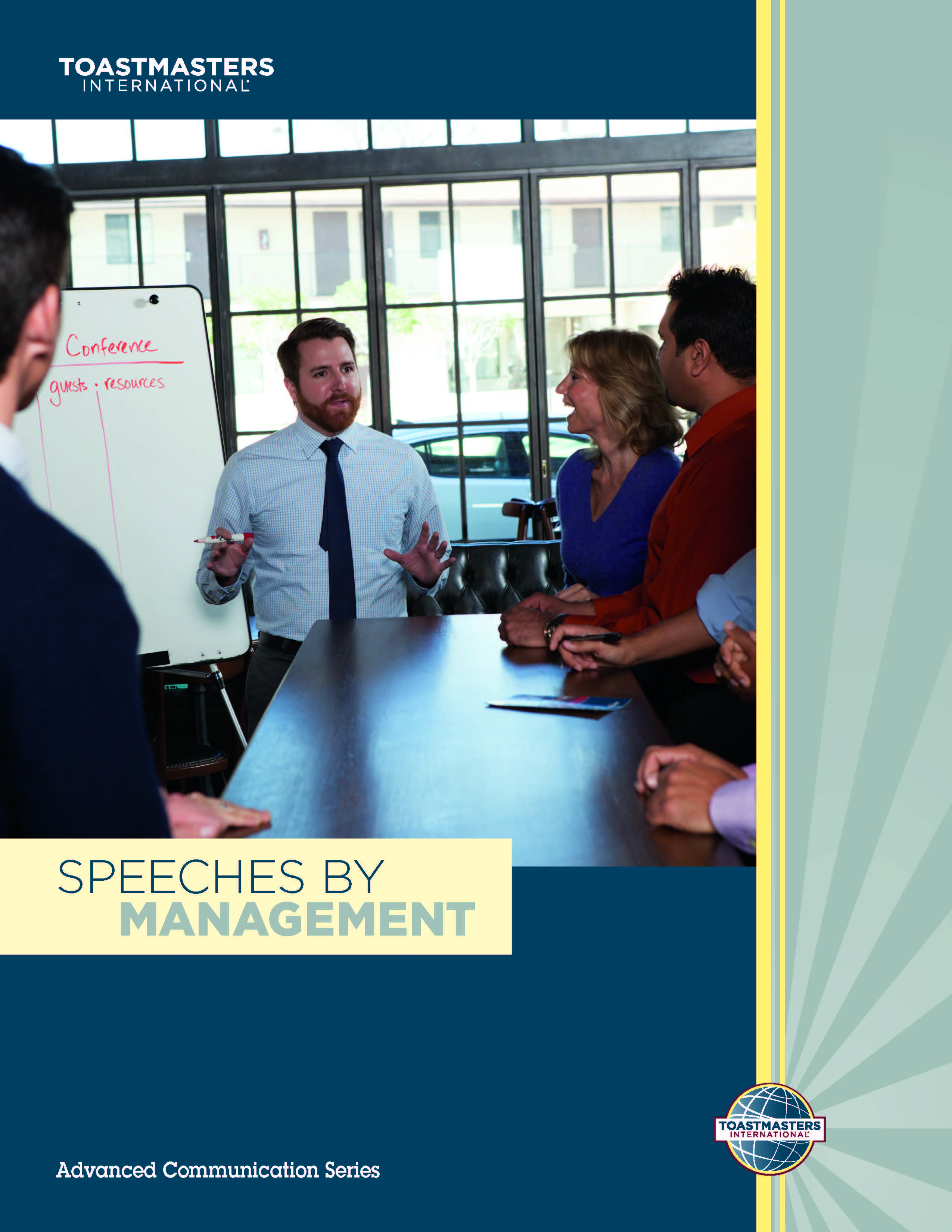 "Cover of the ""Speeches by Management"" advanced manual"