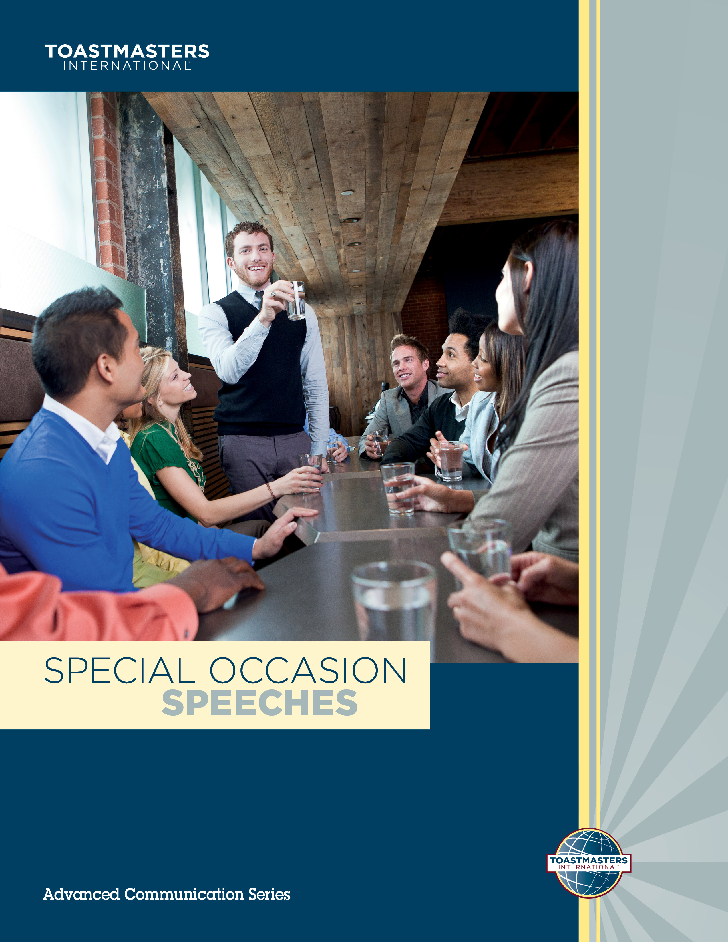 "Cover of the ""Special Occasion Speeches"" advanced manual"