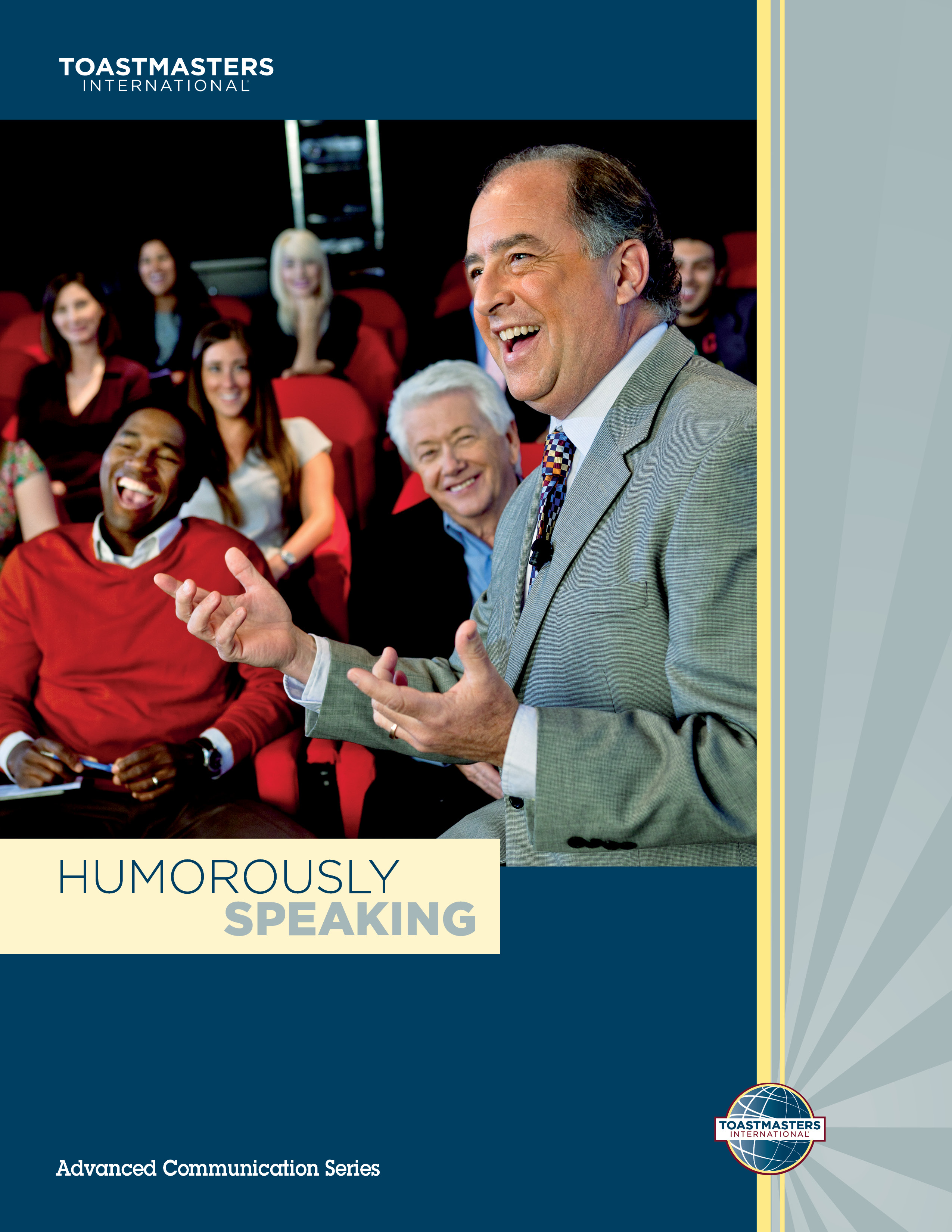 "Cover of the ""Humorously Speaking"" advanced manual"