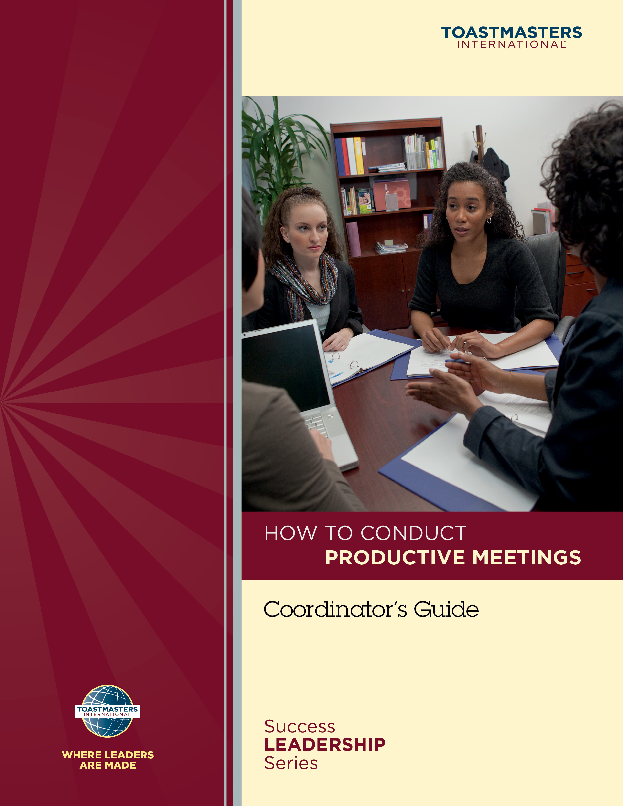 How to Conduct Productive Meetings Workshop Coordinator's Guide