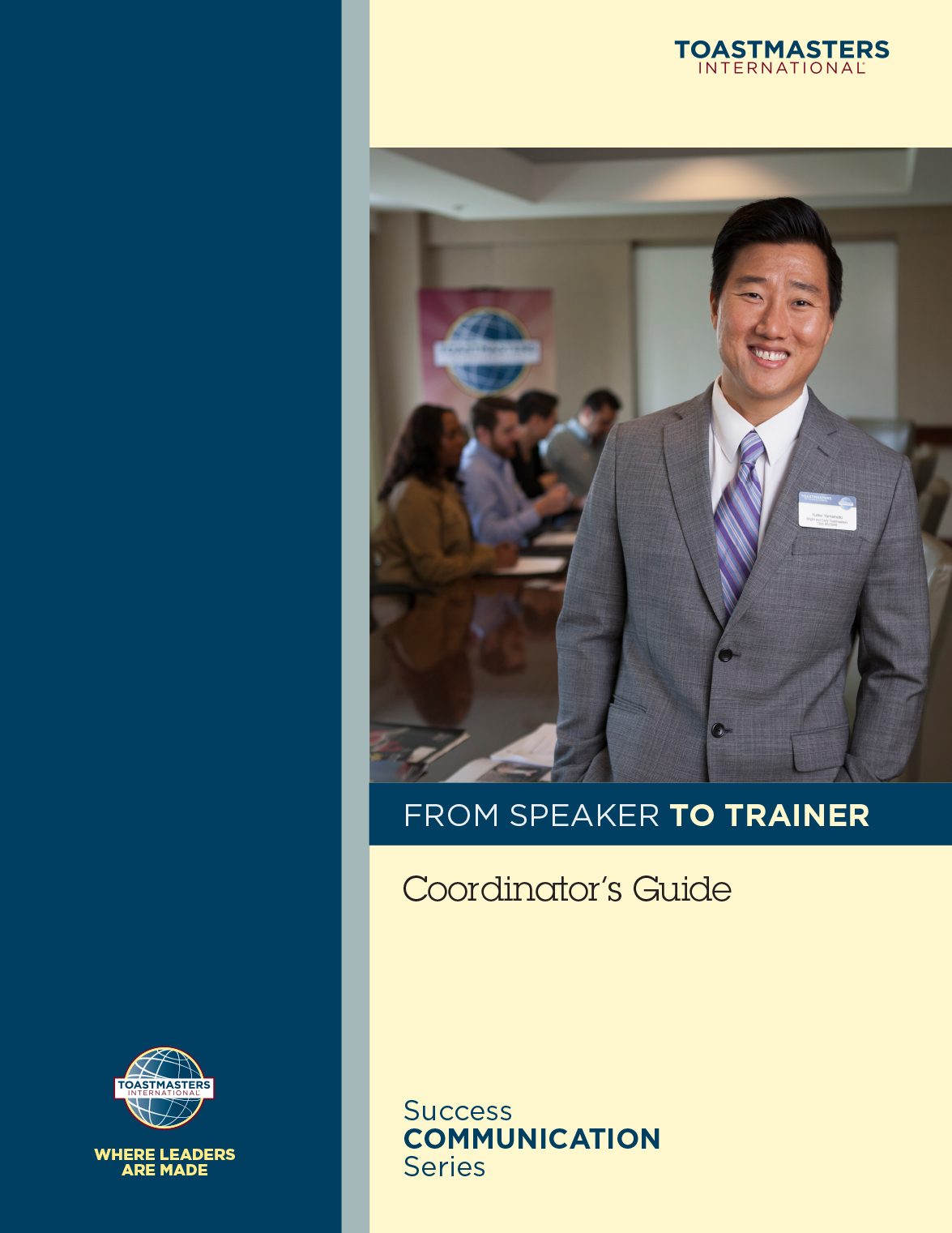 From Speaker to Trainer Coordinator's Guide