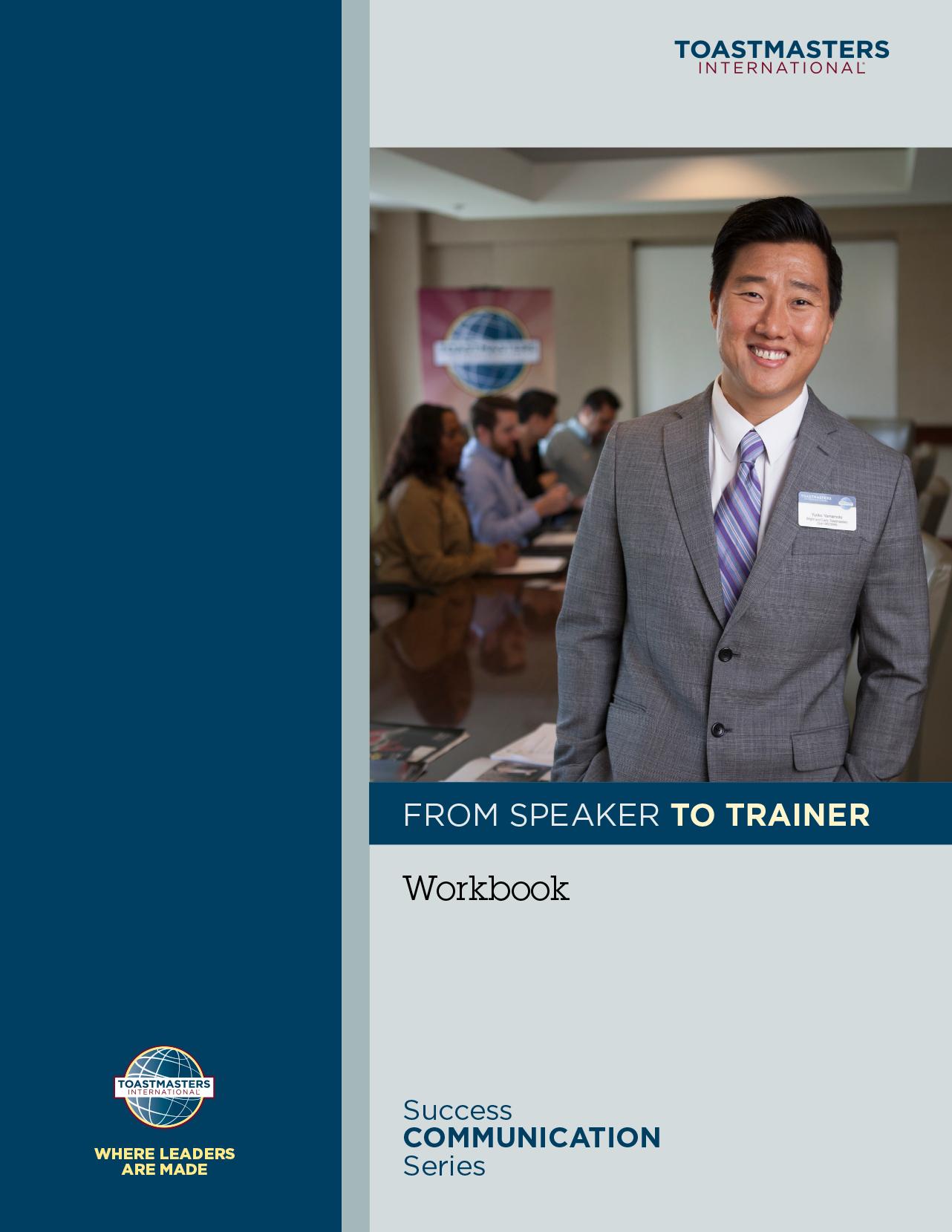 From Speaker to Trainer Workbook