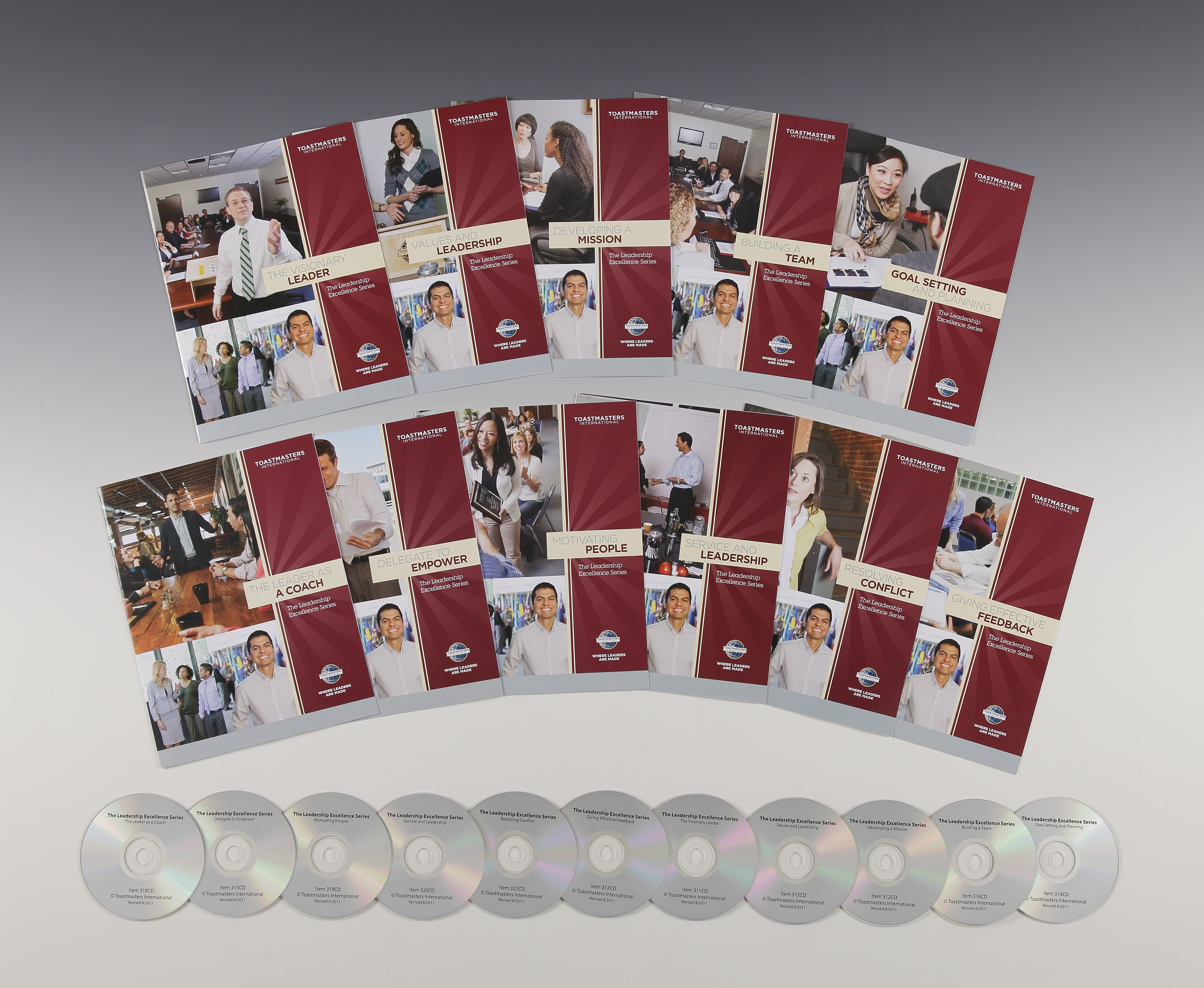 The Leadership Excellence Series Set