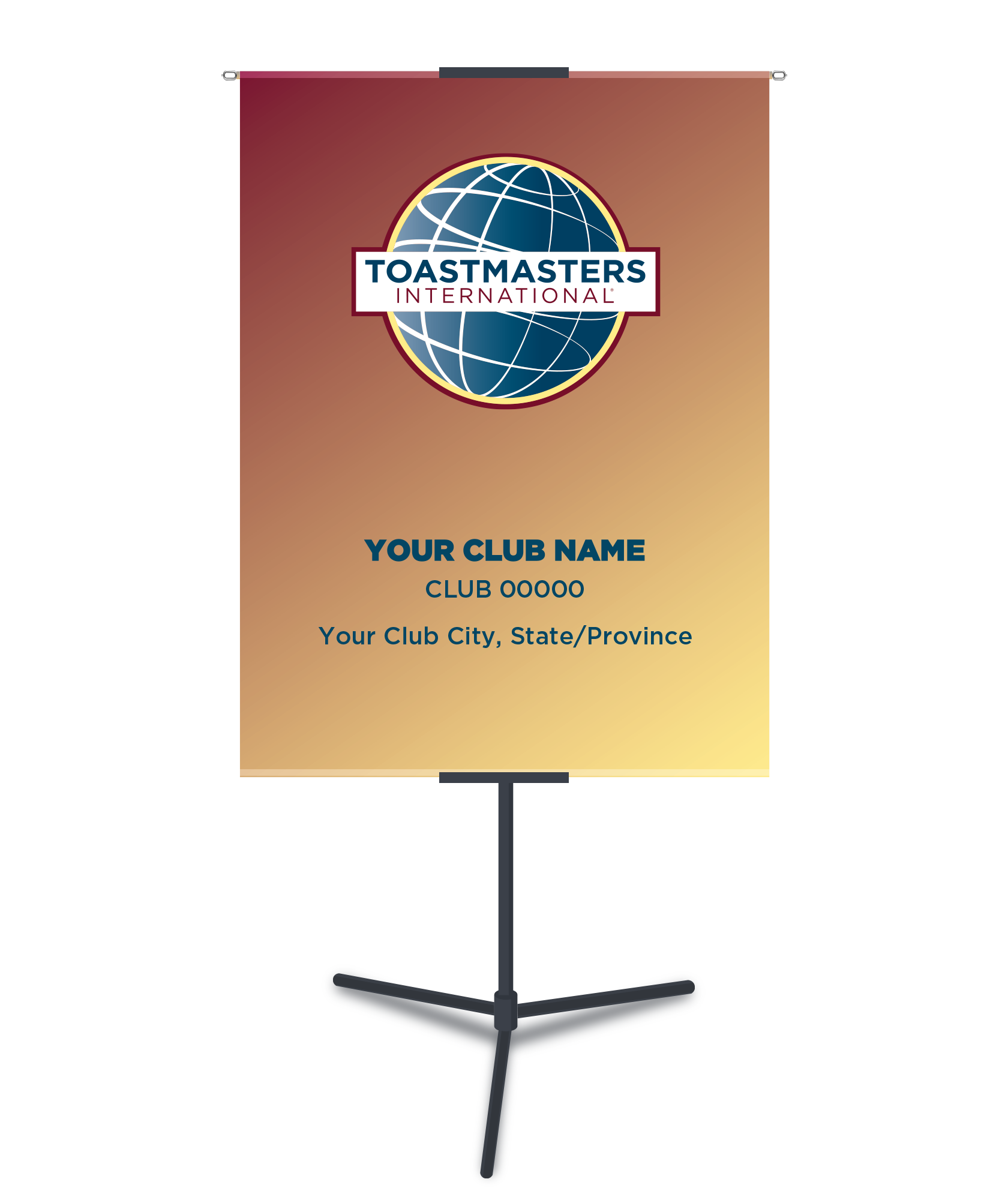 Customized Banner - Club