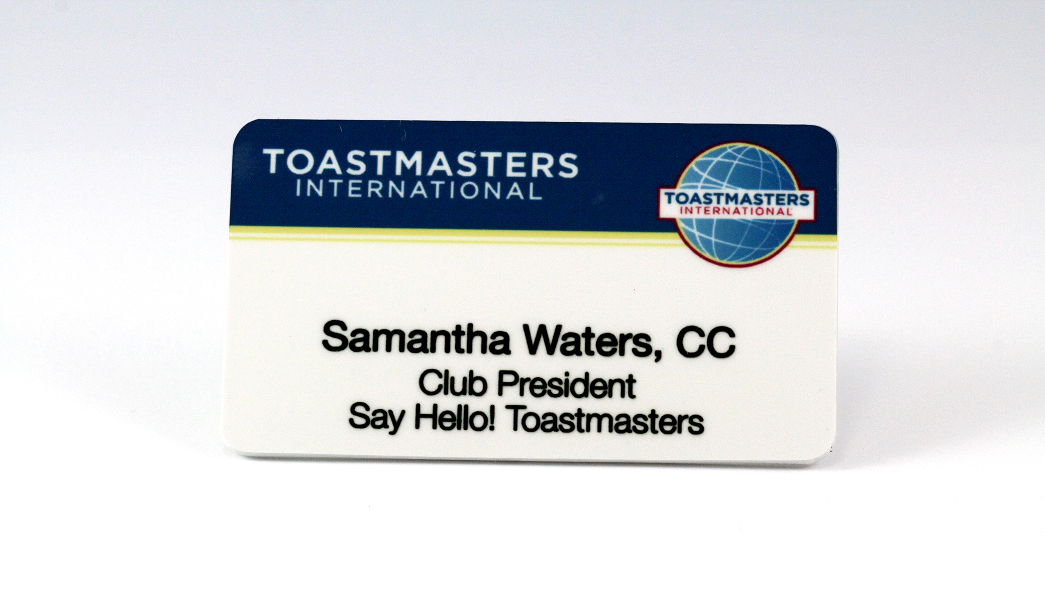Member and Club Officer Badge (Magnetic back)