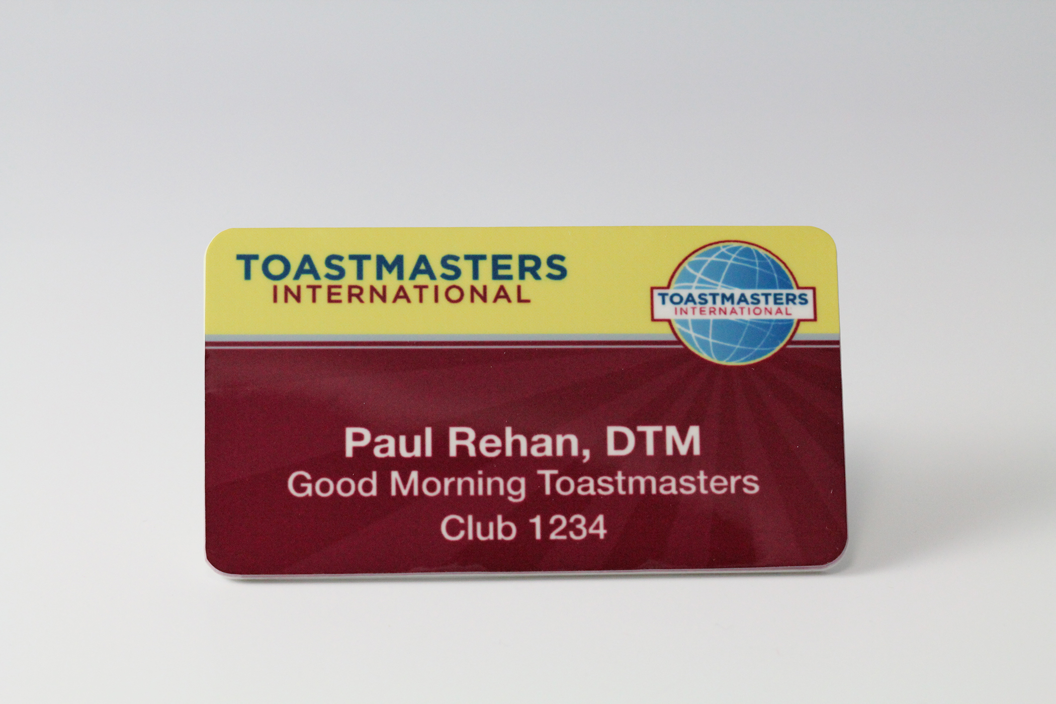 DTM Badge (Magnetic Back)
