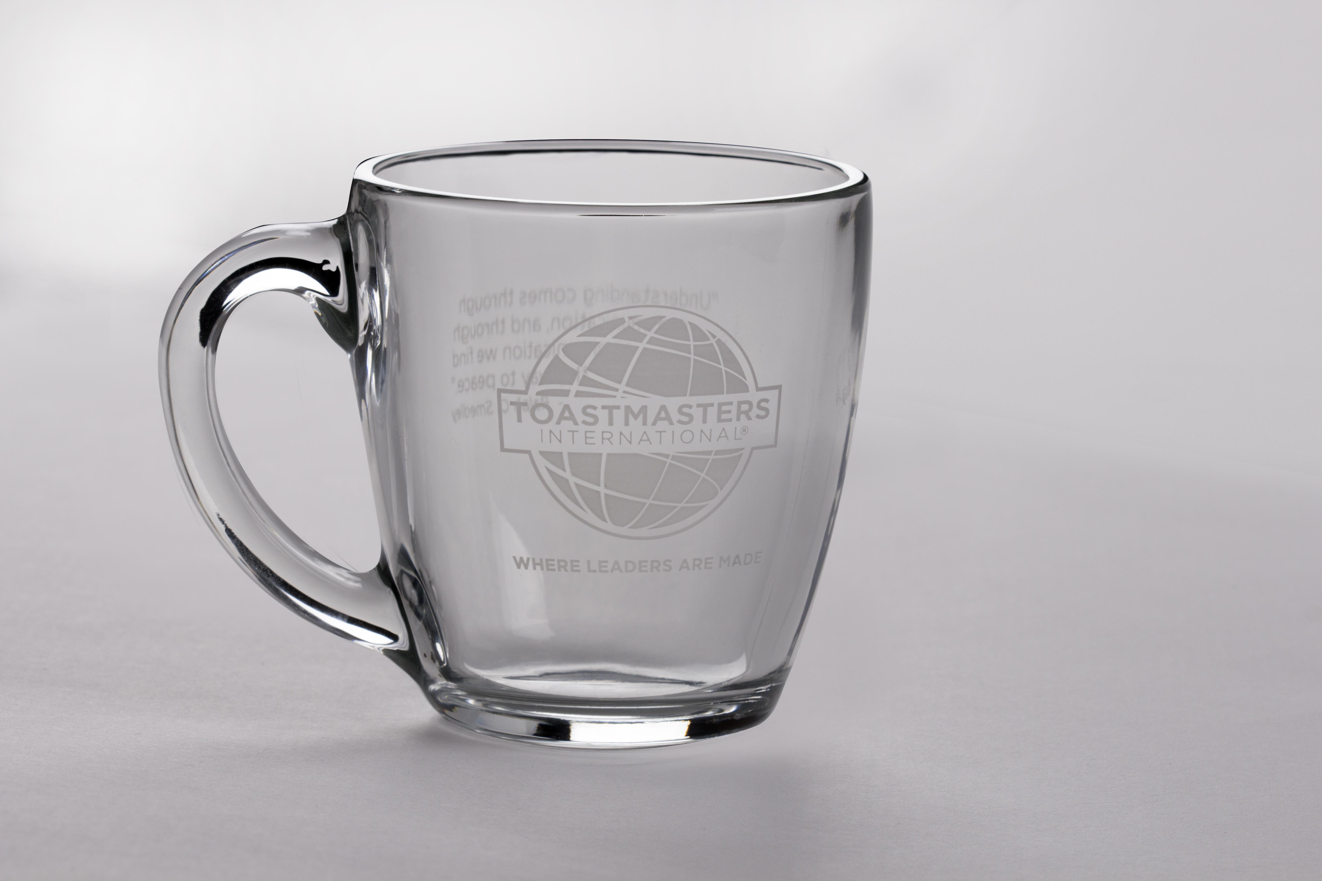 Glass Mug (Smedley Quote)