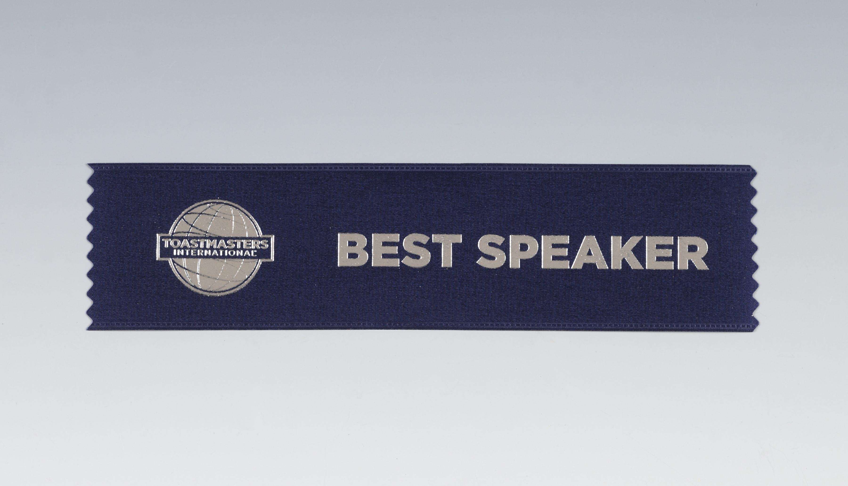 Best Speaker Ribbon (set of 10)