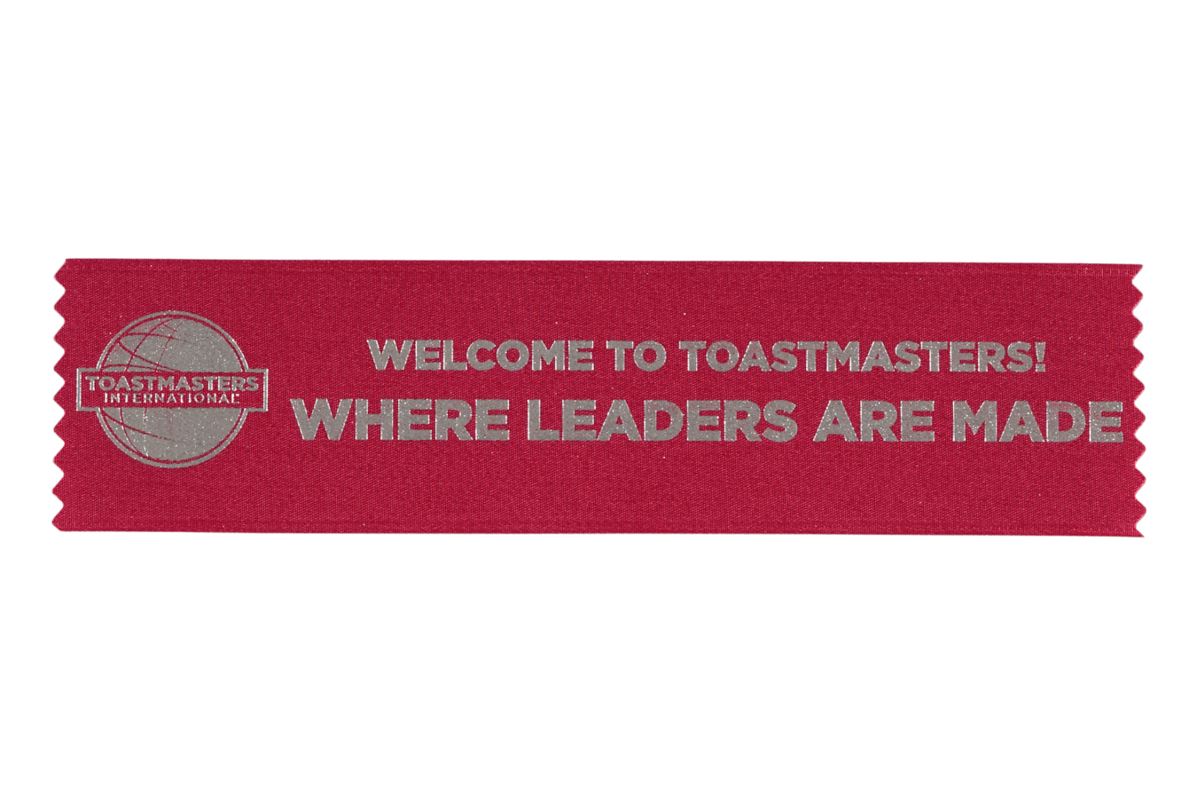 Promotional Welcome Ribbons (set of 10)