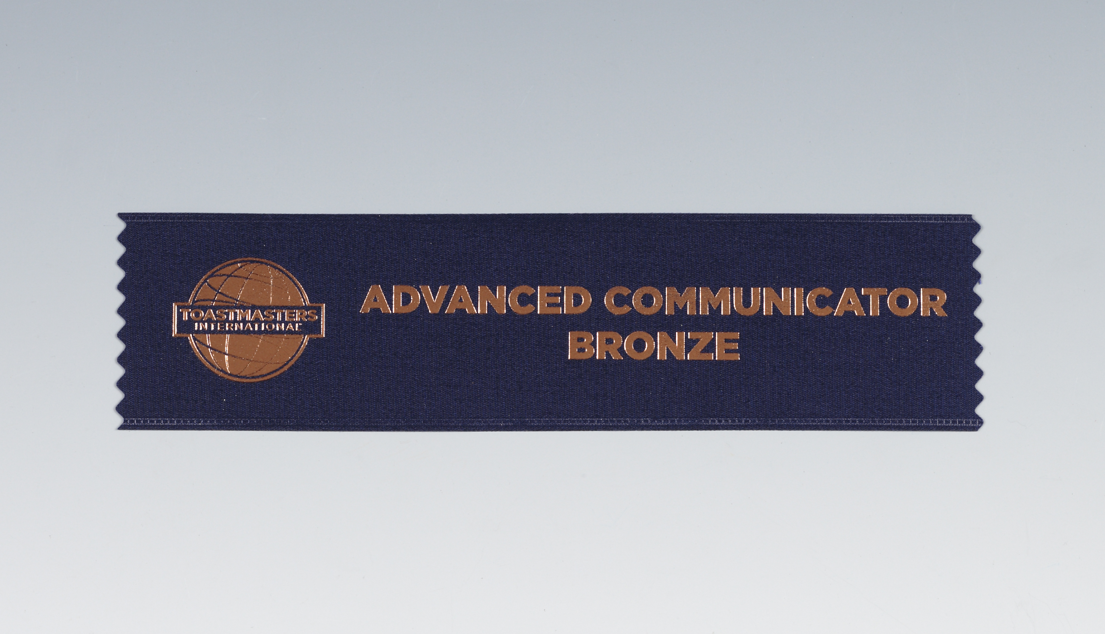 Advanced Communicator Bronze Ribbon
