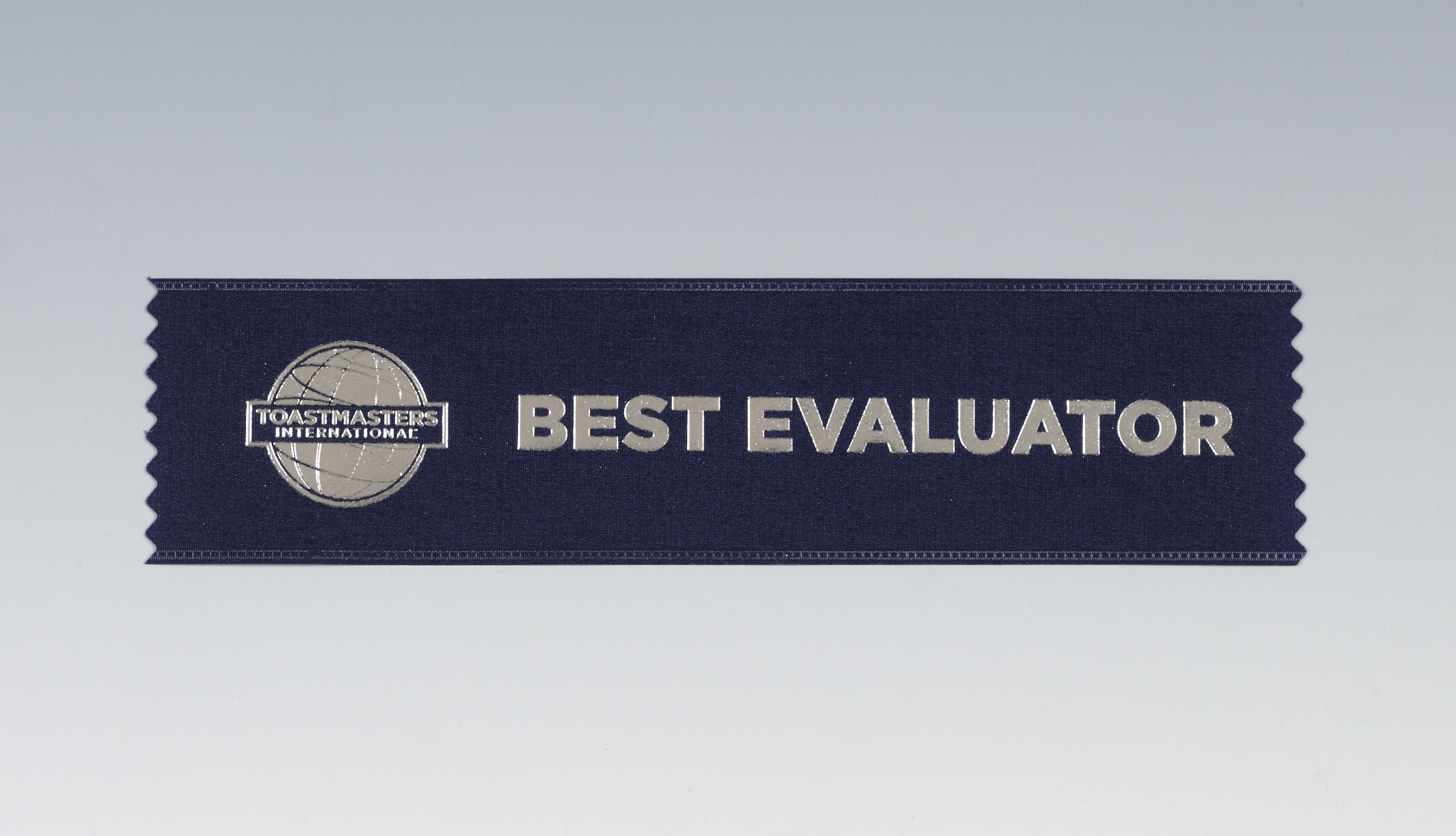 Best Evaluator Ribbon