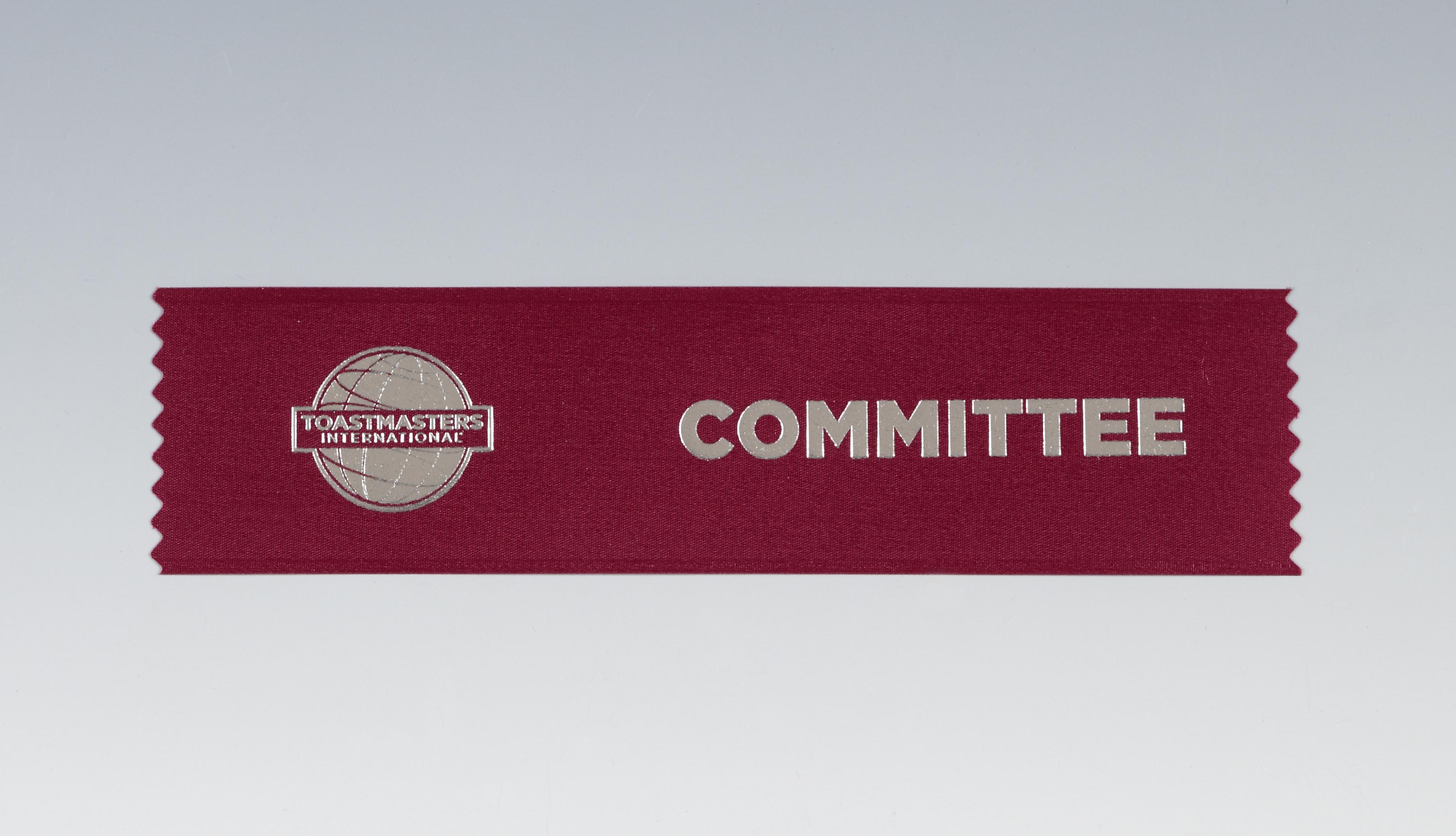 Committee Ribbon