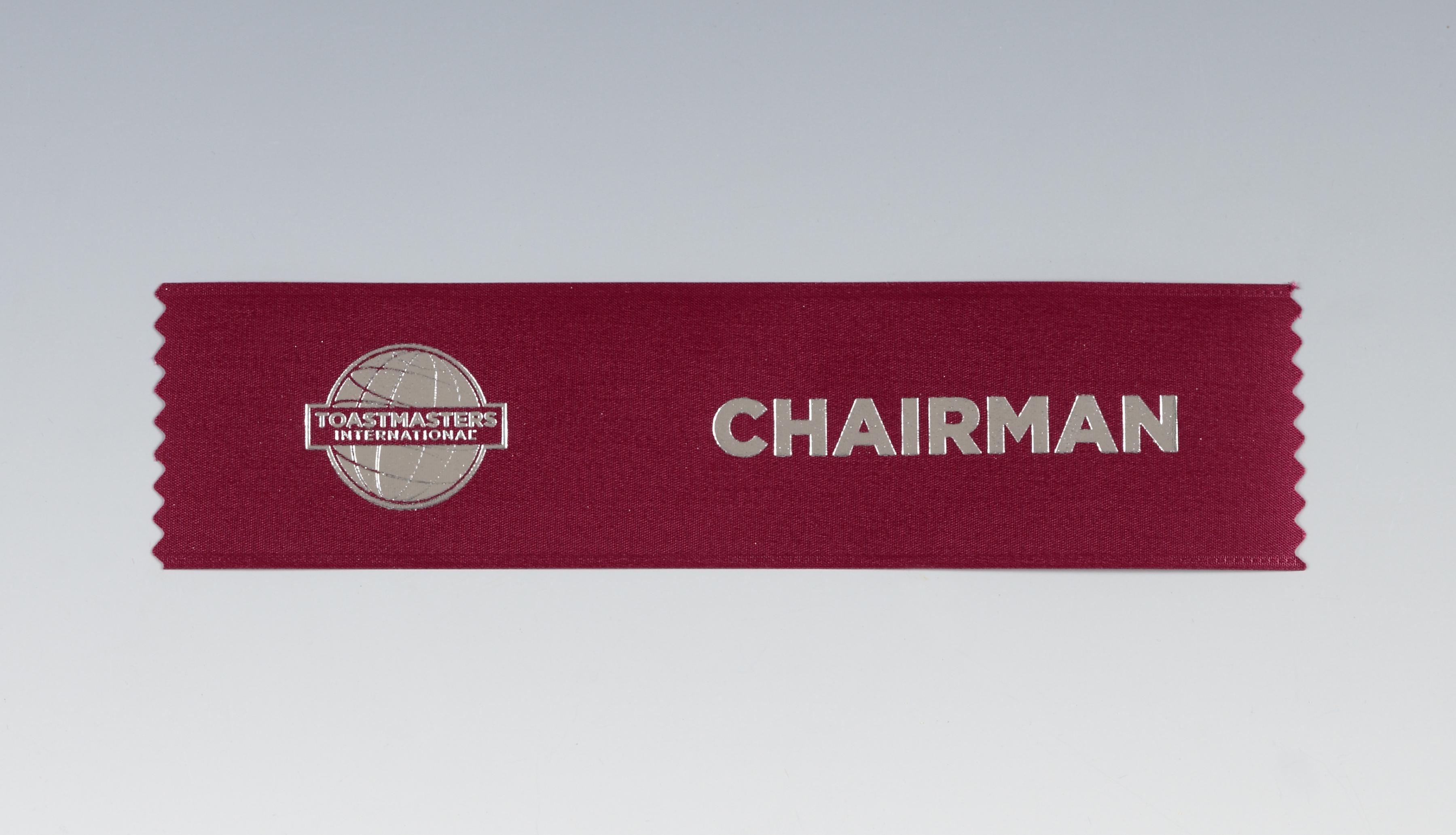 Chairman Ribbon