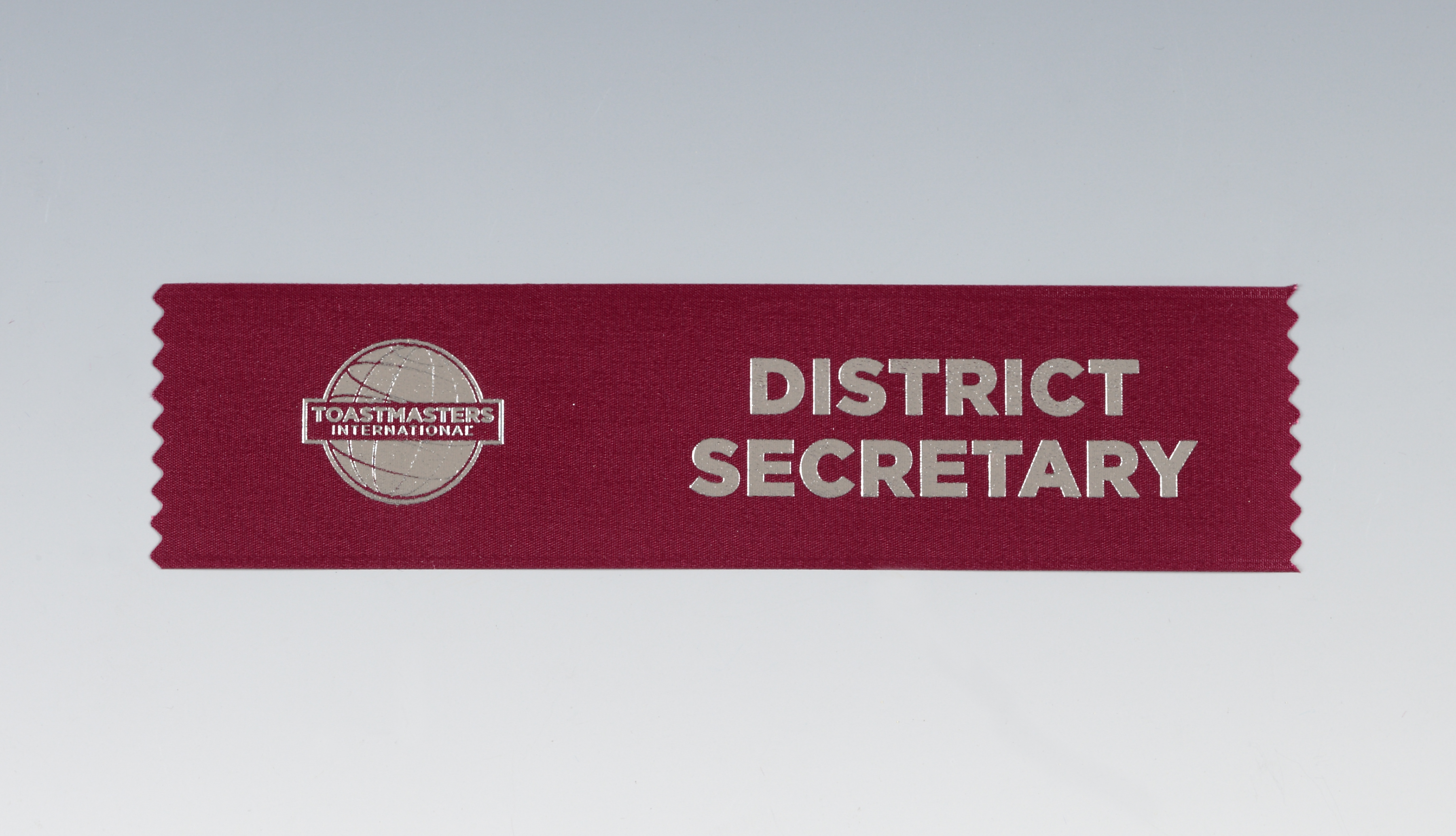 District Secretary Ribbon