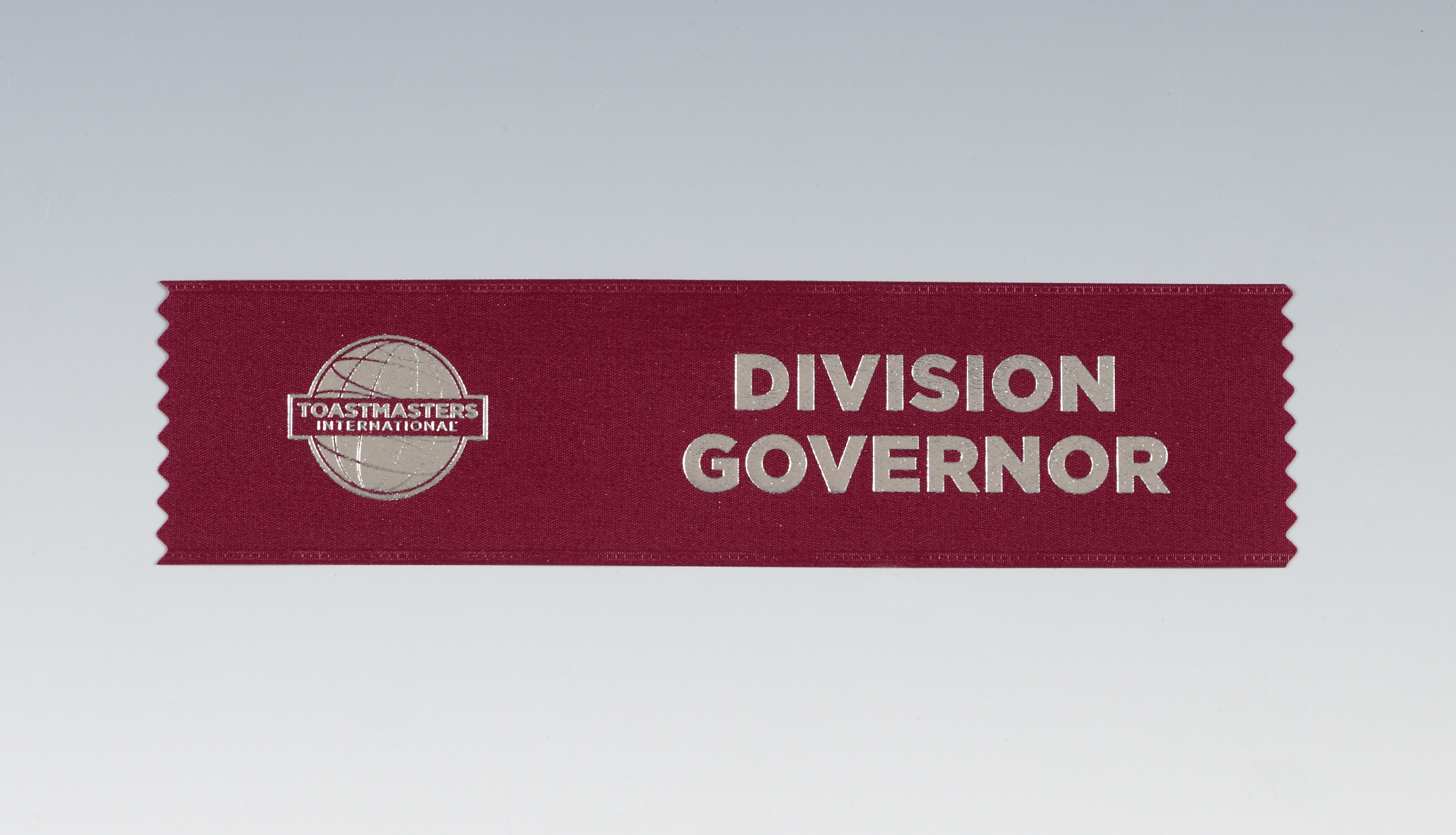 Division Governor Ribbon