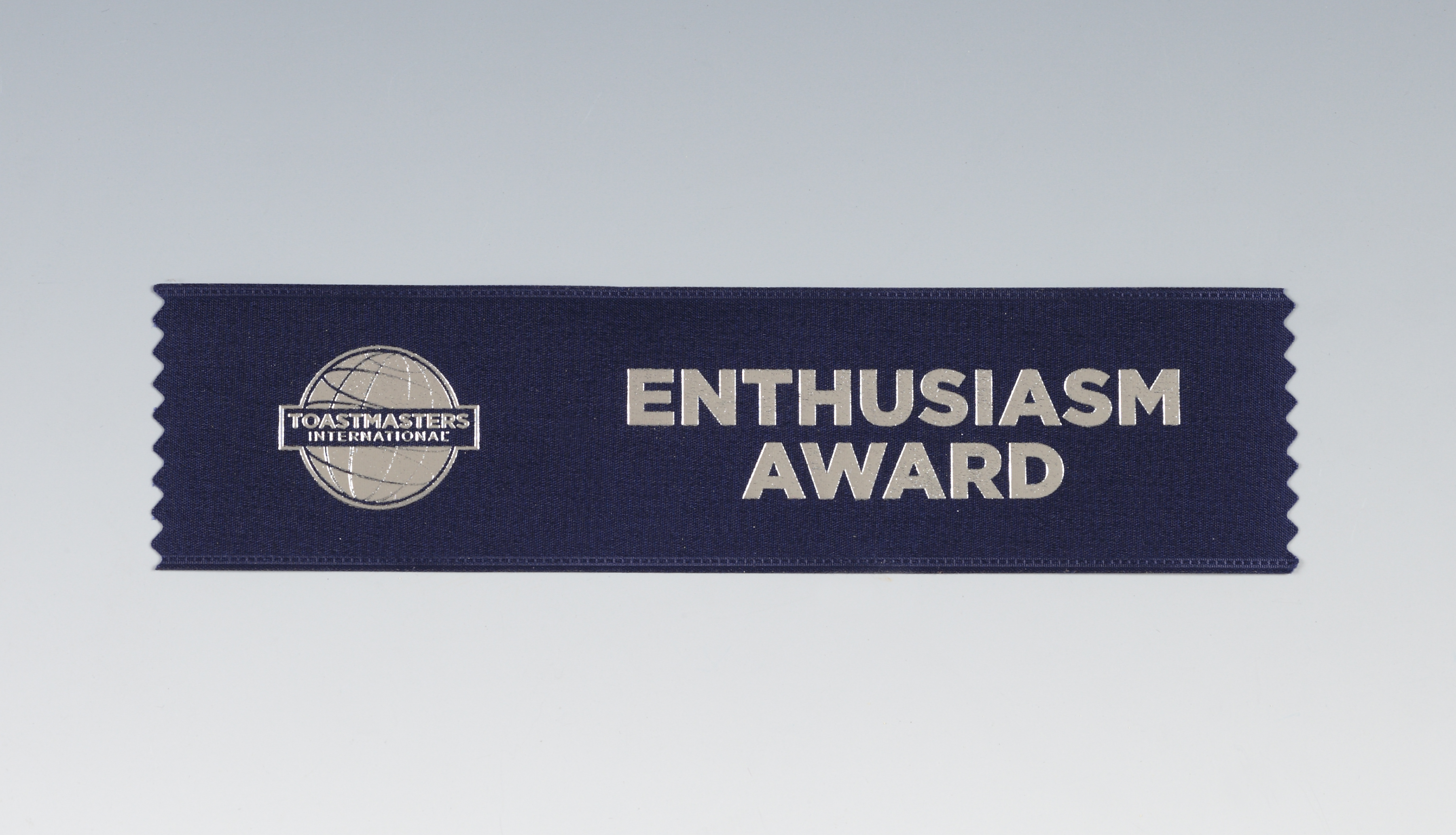 Enthusiasm Award Ribbon