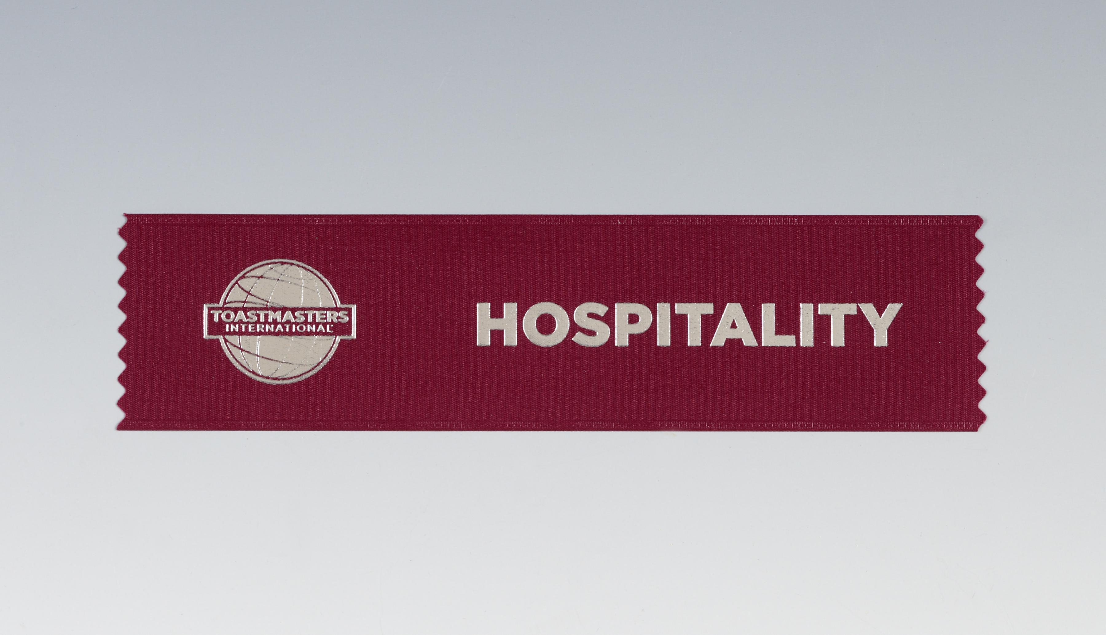 Hospitality Ribbon