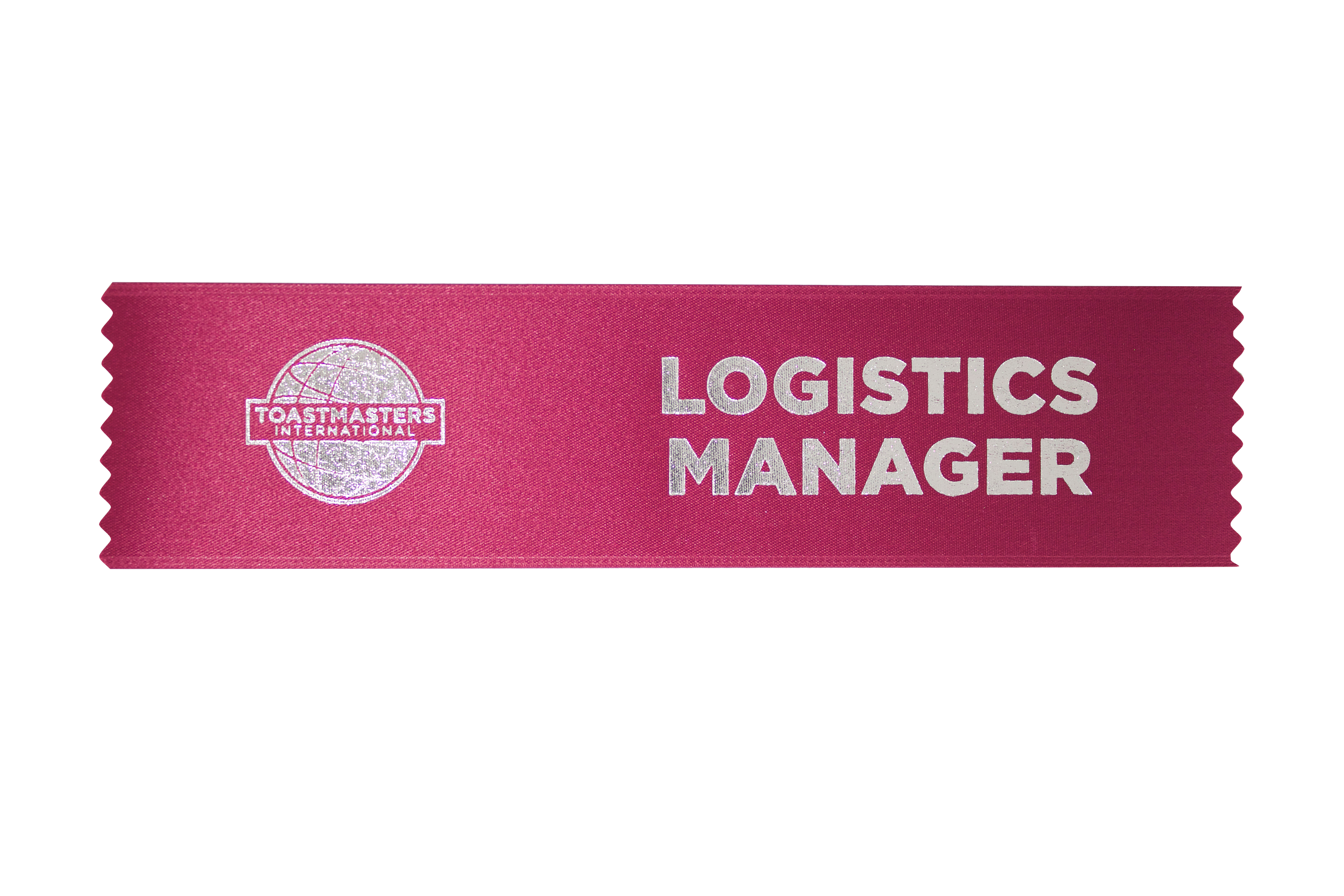 Logistics Manager Ribbon